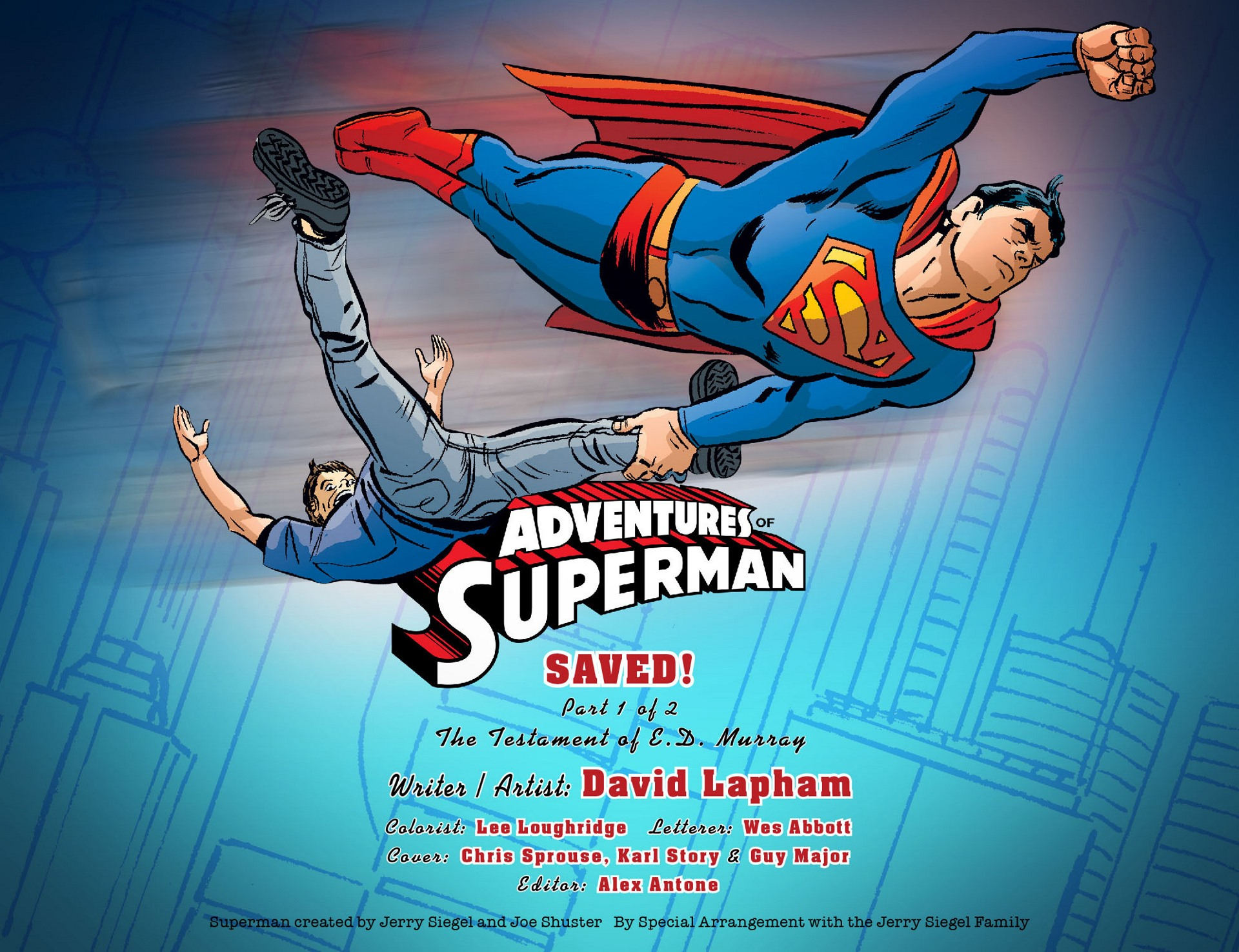 Read online Adventures of Superman [I] comic -  Issue #19 - 2