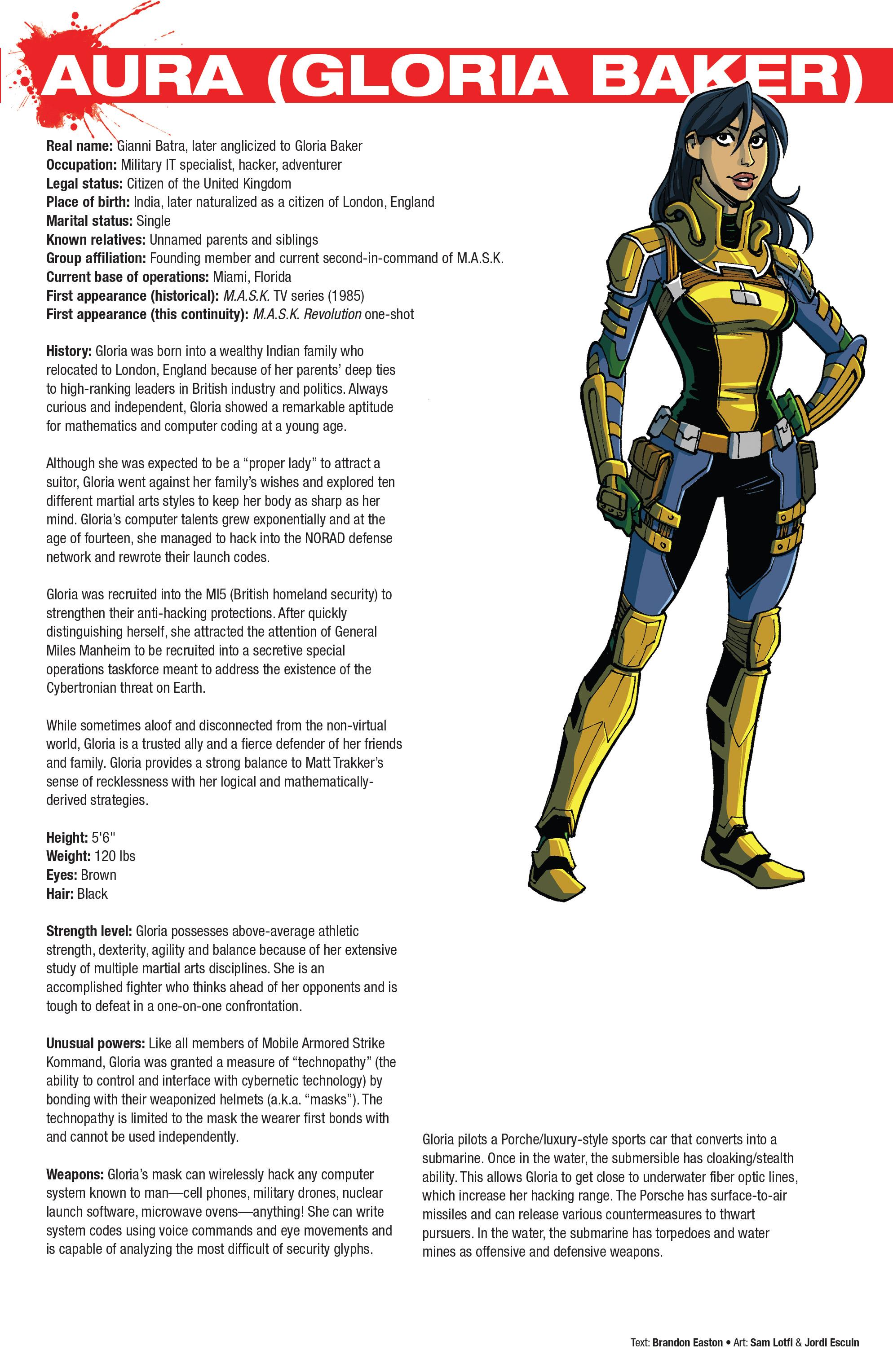 Read online Hasbro Heroes Sourcebook comic -  Issue #1 - 13