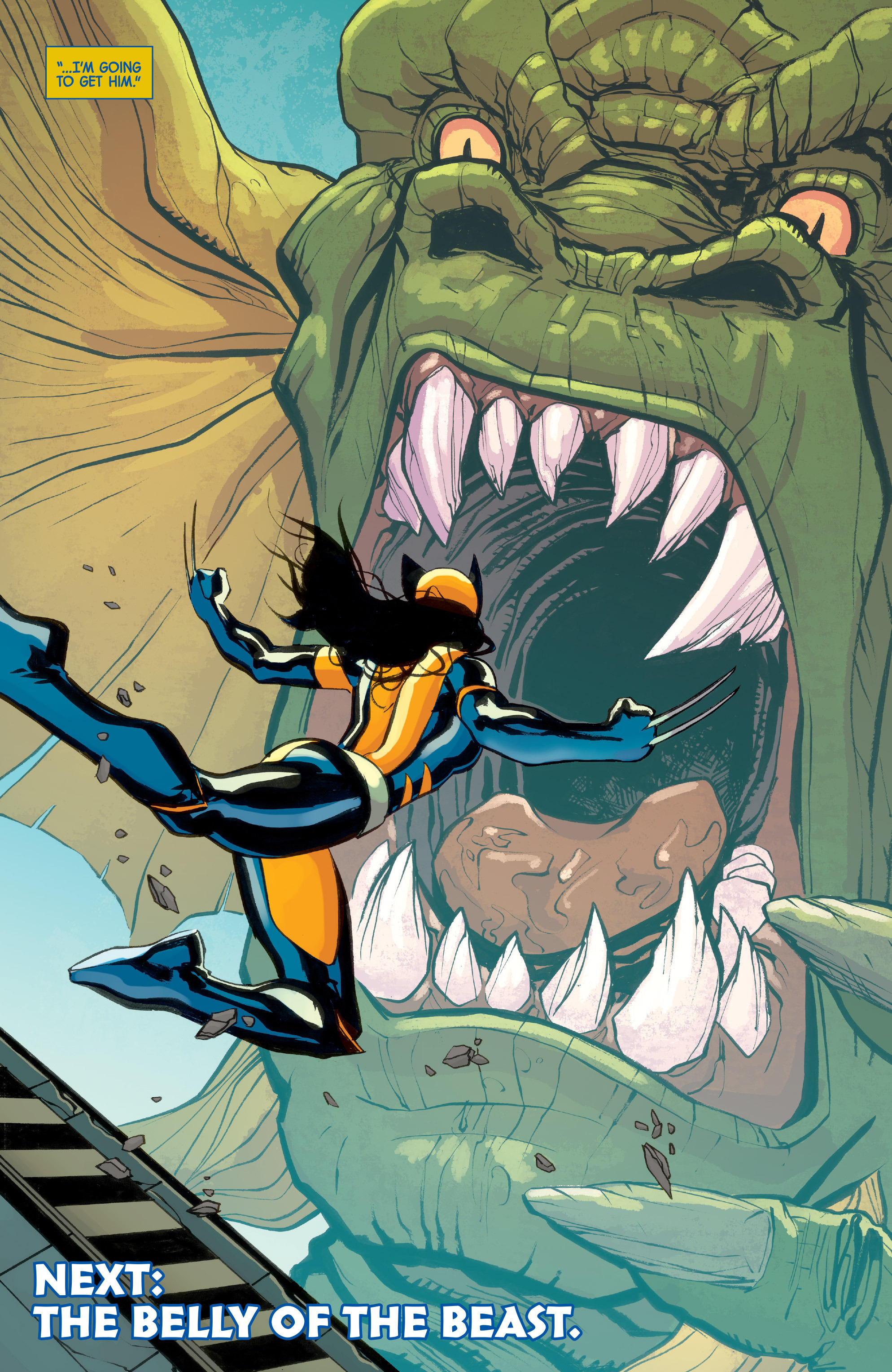 Read online All-New Wolverine (2016) comic -  Issue #8 - 21