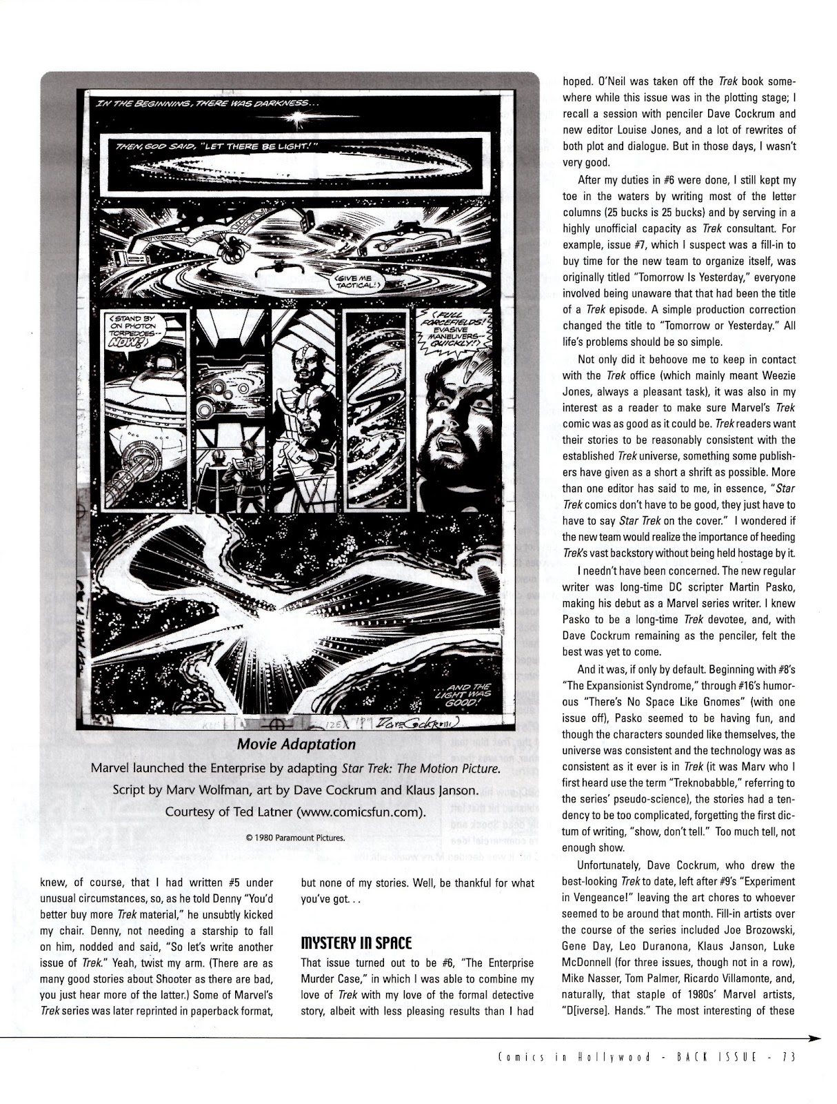 Back Issue issue 5 - Page 75