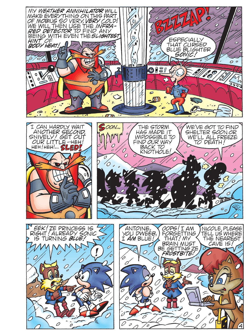 Sonic Super Digest #5 - Read Sonic Super Digest Issue #5