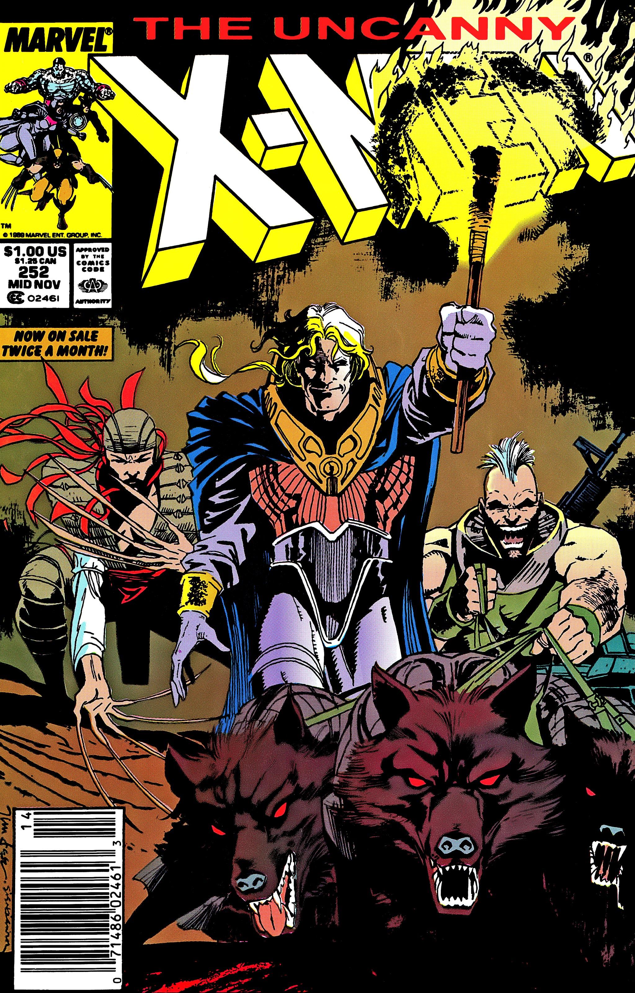 Uncanny X-Men (1963) 252 Page 1