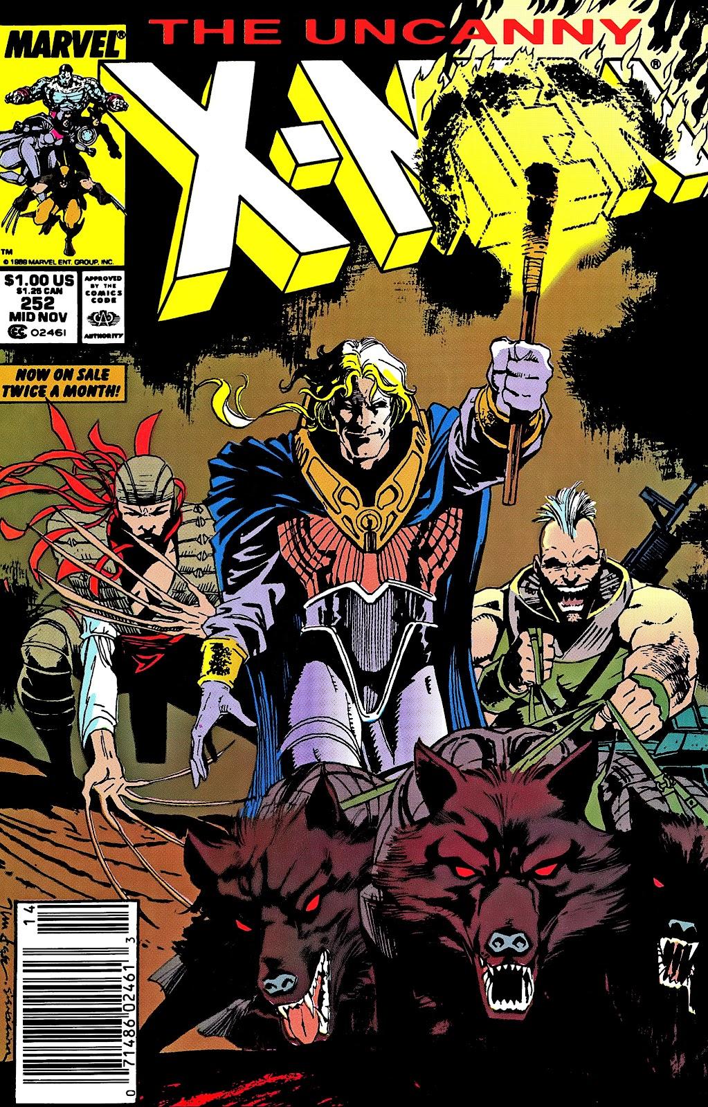 Uncanny X-Men (1963) issue 252 - Page 1