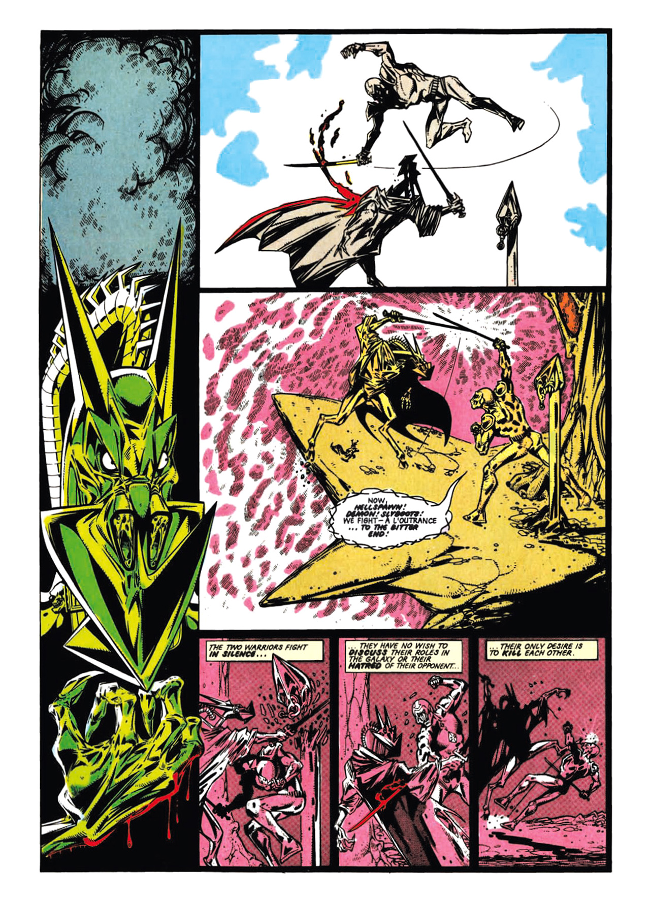 Read online Nemesis The Warlock comic -  Issue # TPB Deviant Edition - 77