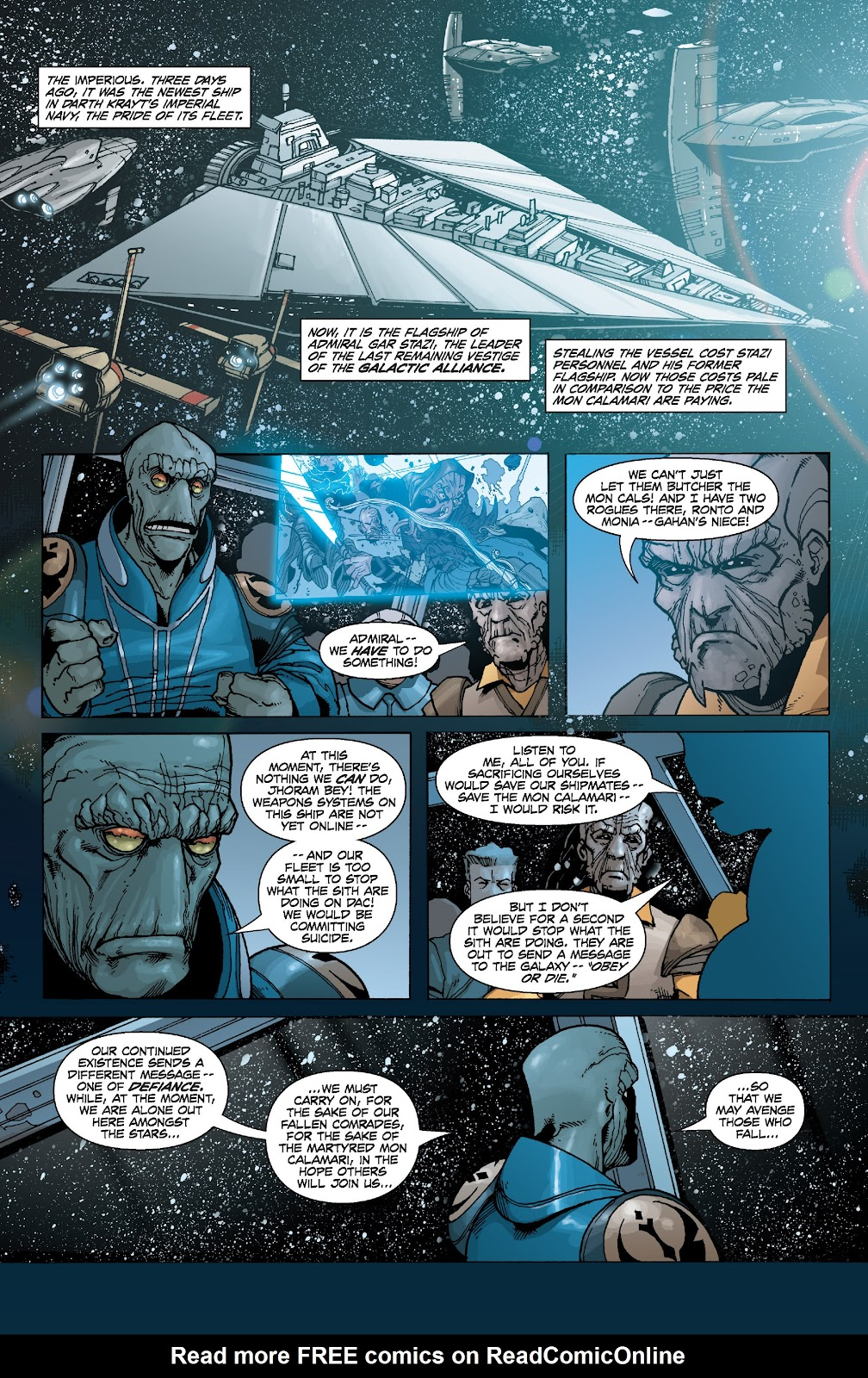 Read online Star Wars Legends: Legacy - Epic Collection comic -  Issue # TPB 2 (Part 1) - 84