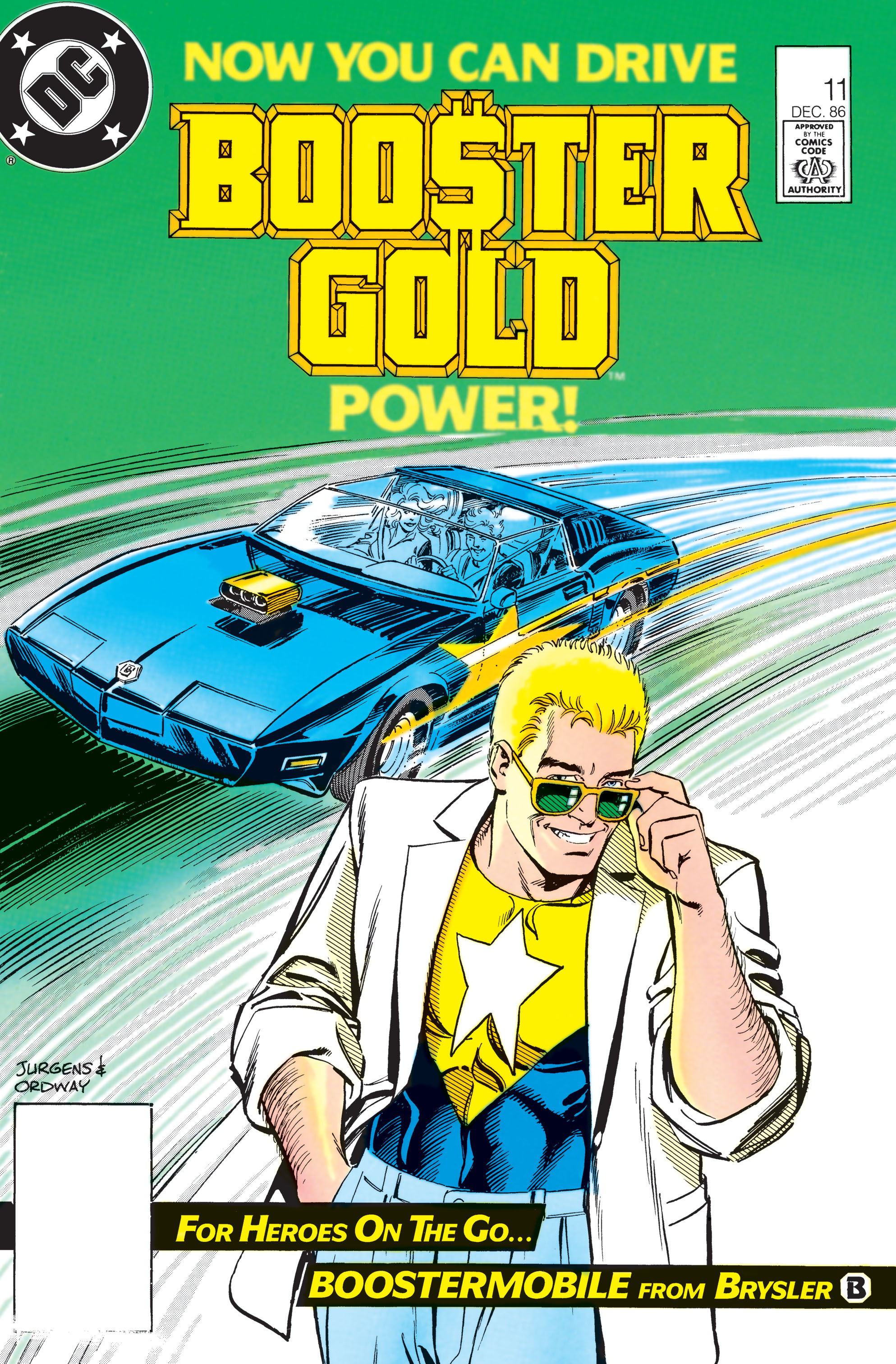 Booster Gold 1986 Issue 11