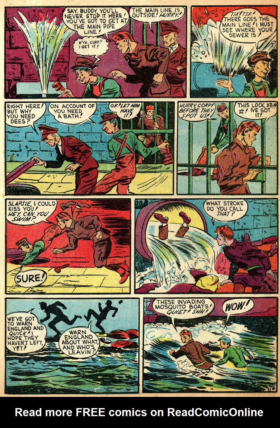 Blue Ribbon Comics (1939) issue 8 - Page 40
