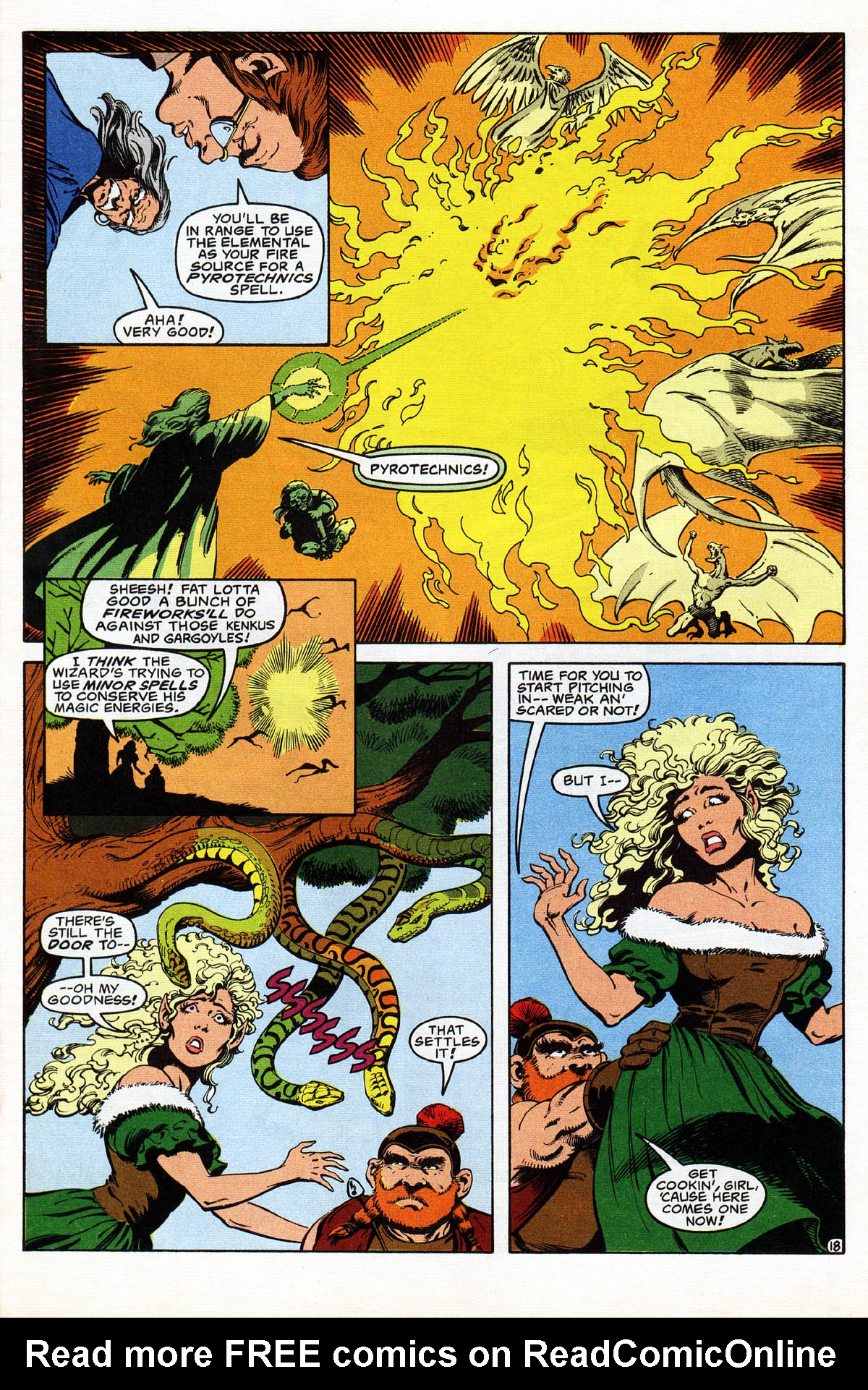 Read online Advanced Dungeons & Dragons comic -  Issue #18 - 22