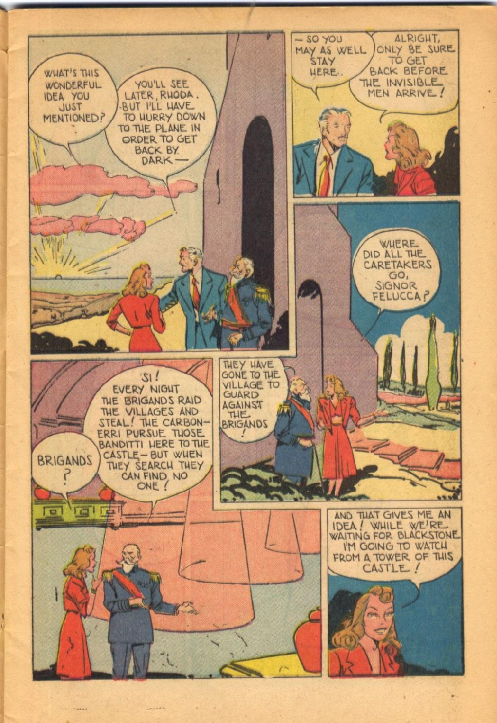 Read online Super-Magician Comics comic -  Issue #38 - 9