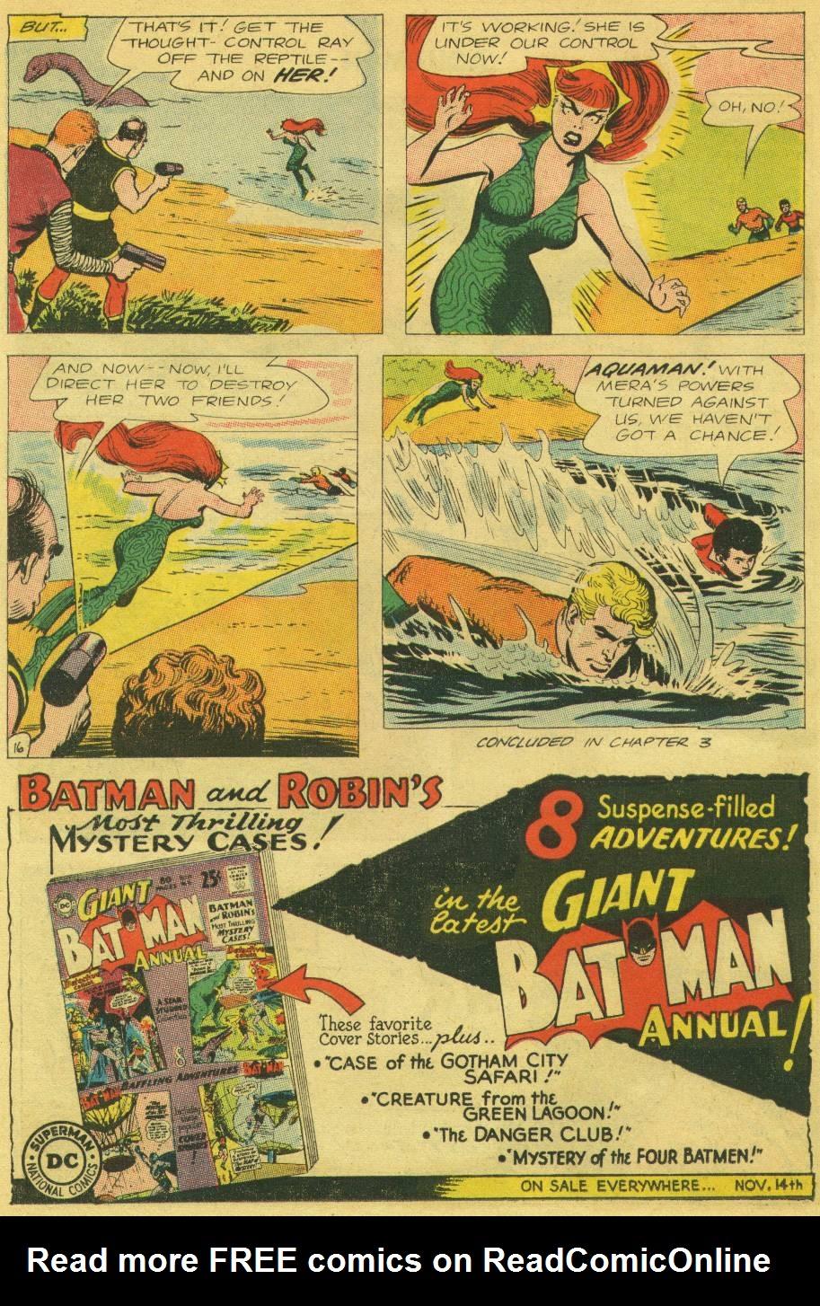 Read online Aquaman (1962) comic -  Issue #13 - 21