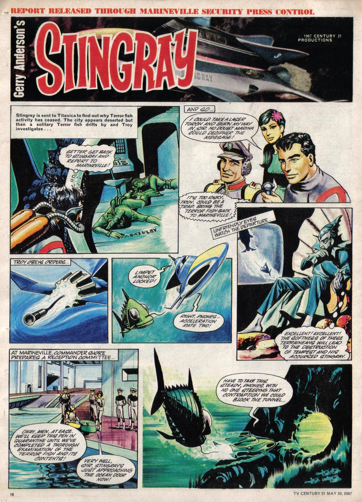 Read online TV Century 21 (TV 21) comic -  Issue #122 - 15
