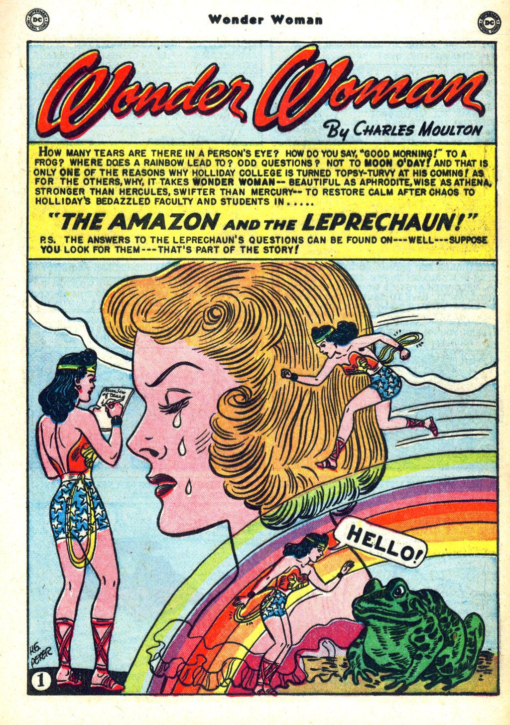 Read online Wonder Woman (1942) comic -  Issue #45 - 25