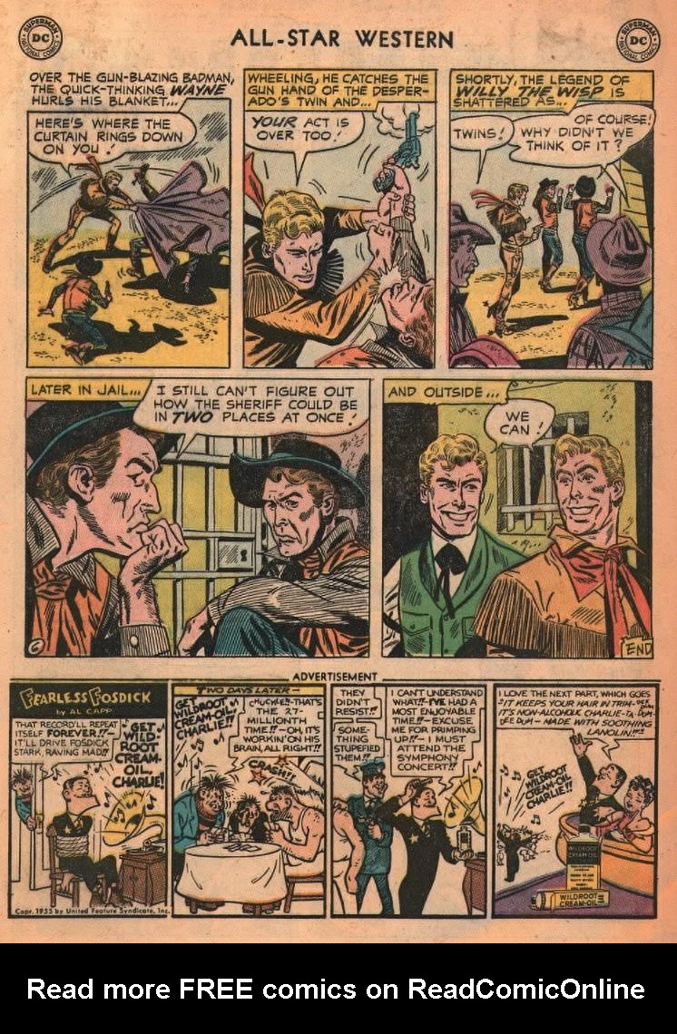 Read online All-Star Western (1951) comic -  Issue #87 - 32