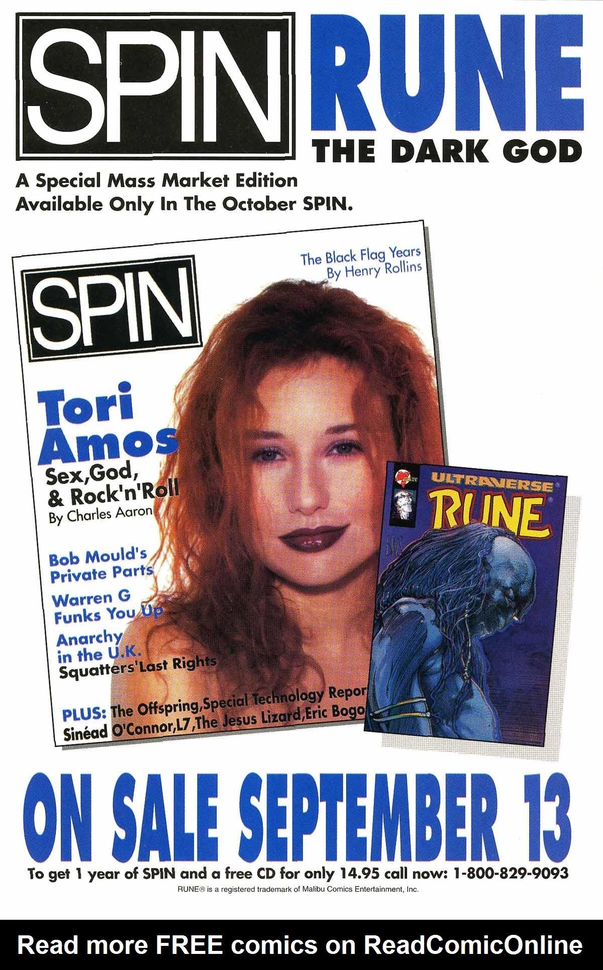 Read online Rune (1994) comic -  Issue #5 - 2