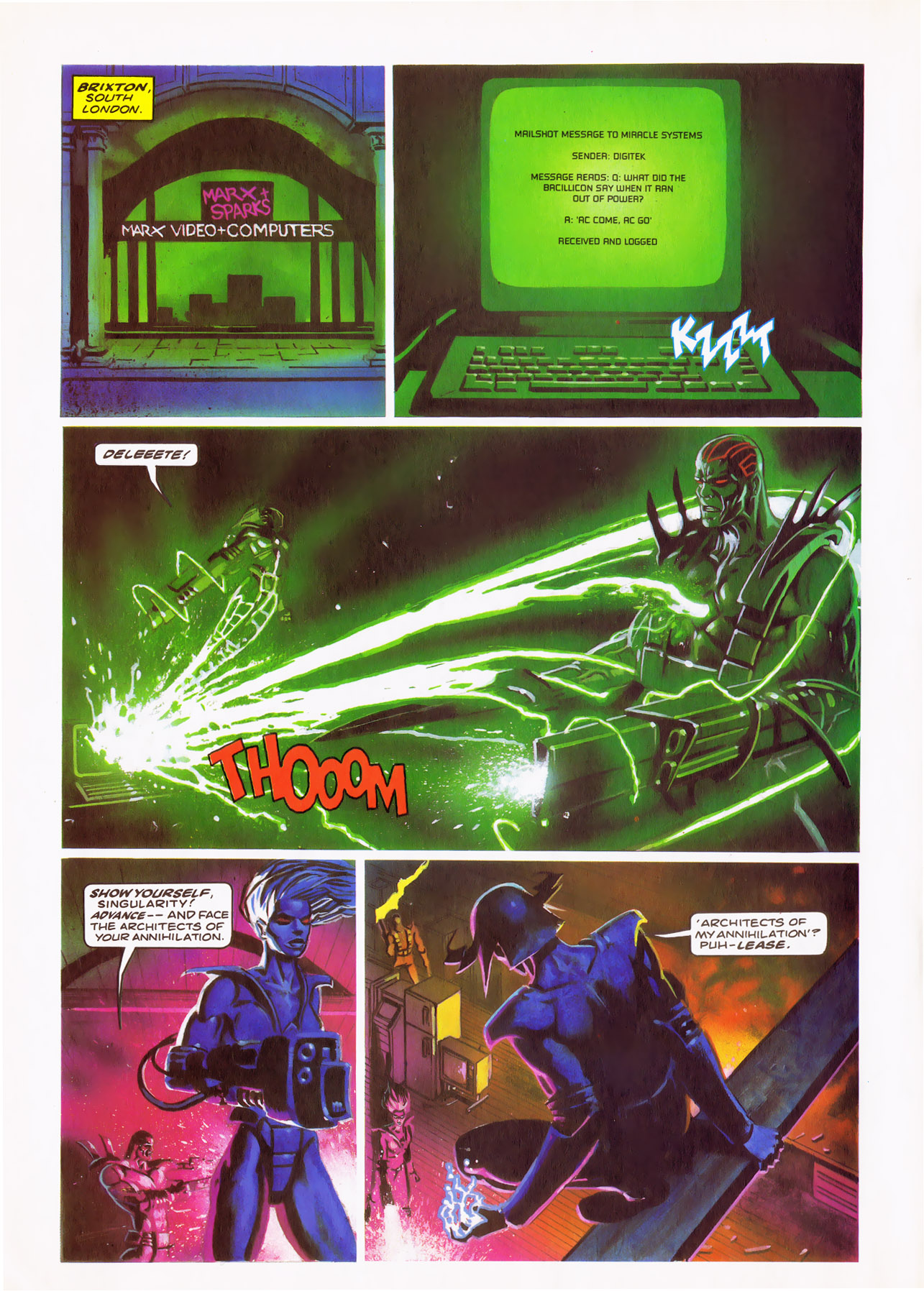 Read online Overkill comic -  Issue #24 - 14