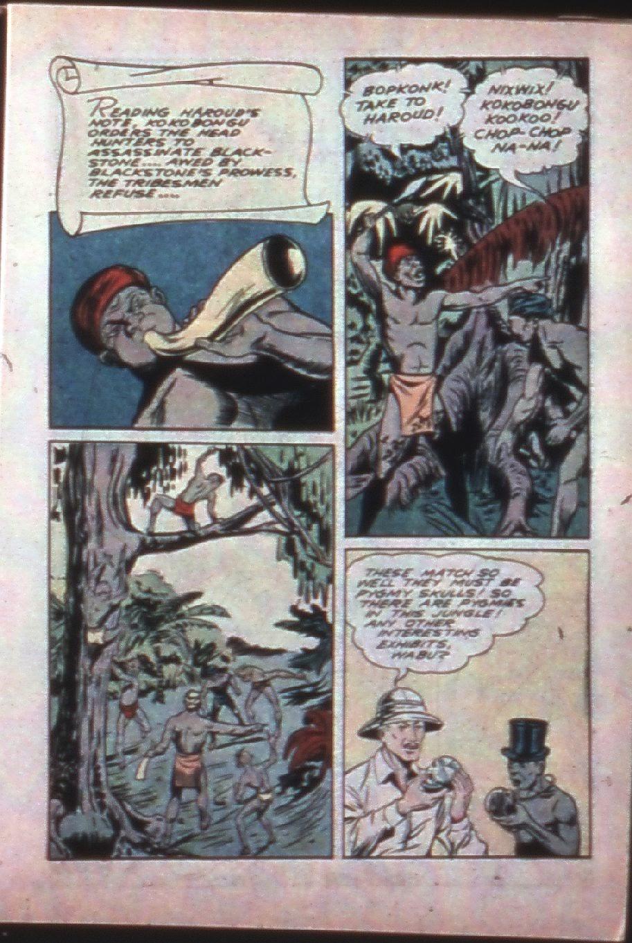 Read online Super-Magician Comics comic -  Issue #7 - 19