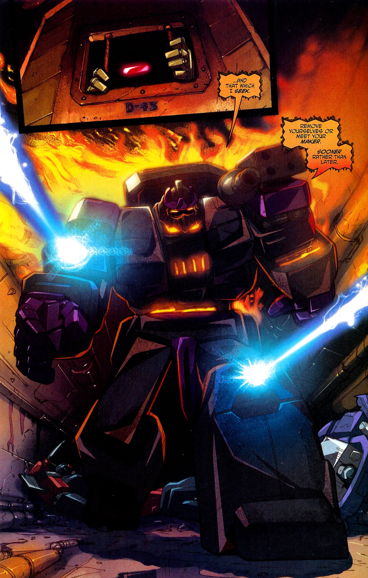 """Read online Transformers War Within: """"The Dark Ages"""" comic -  Issue #5 - 10"""