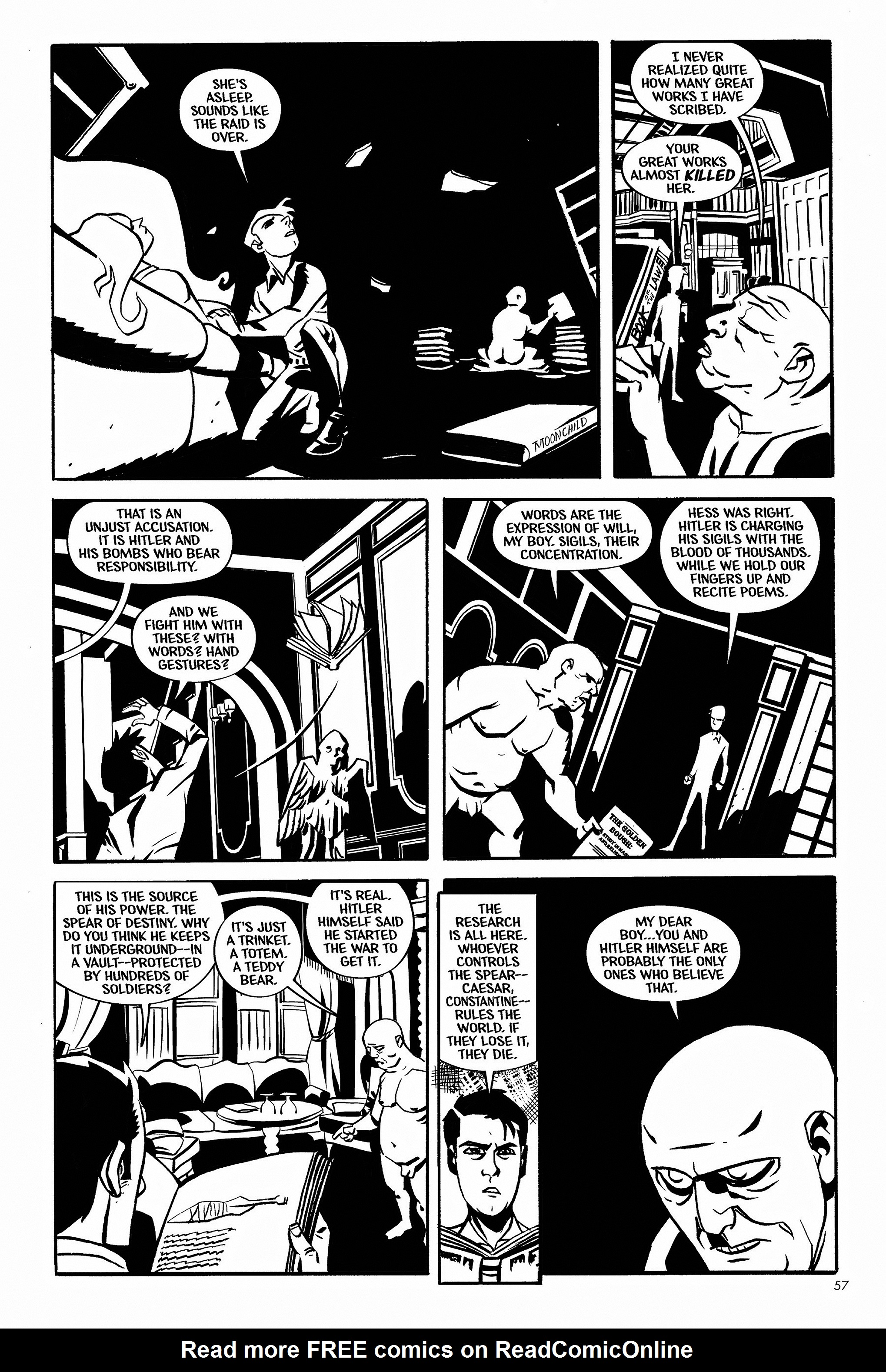 Read online Aleister & Adolf comic -  Issue # TPB - 56