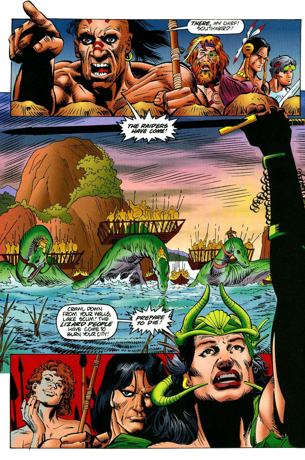 Read online Turok, Dinosaur Hunter (1993) comic -  Issue #45 - 21