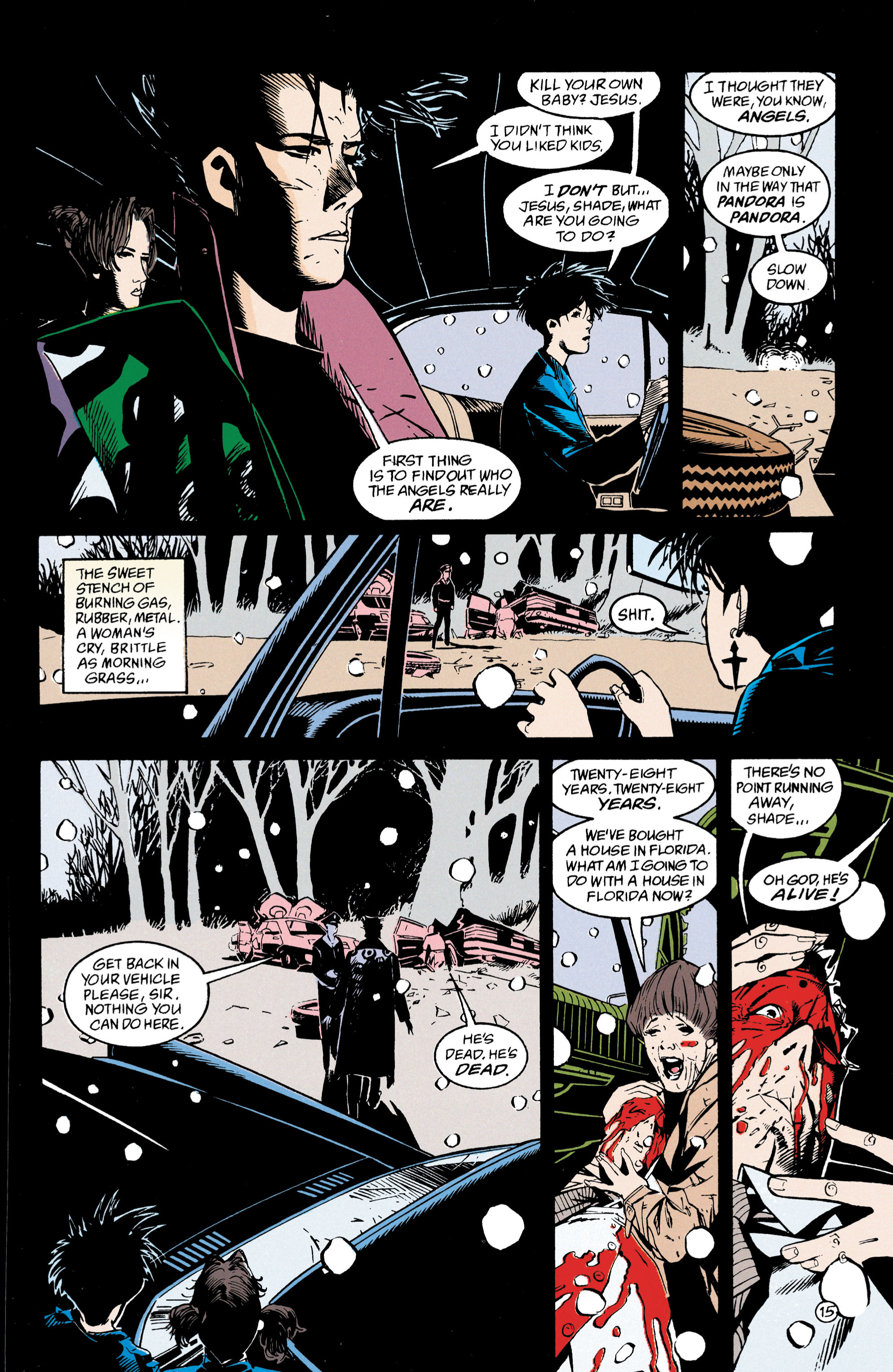 Read online Shade, the Changing Man comic -  Issue #47 - 16