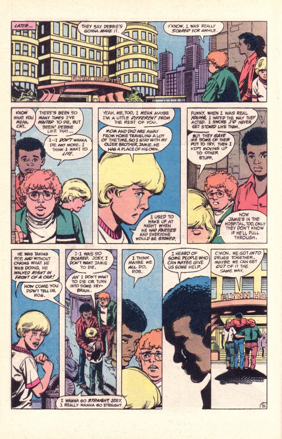 Read online The New Teen Titans (Drug Awareness Specials) comic -  Issue #2 - 28