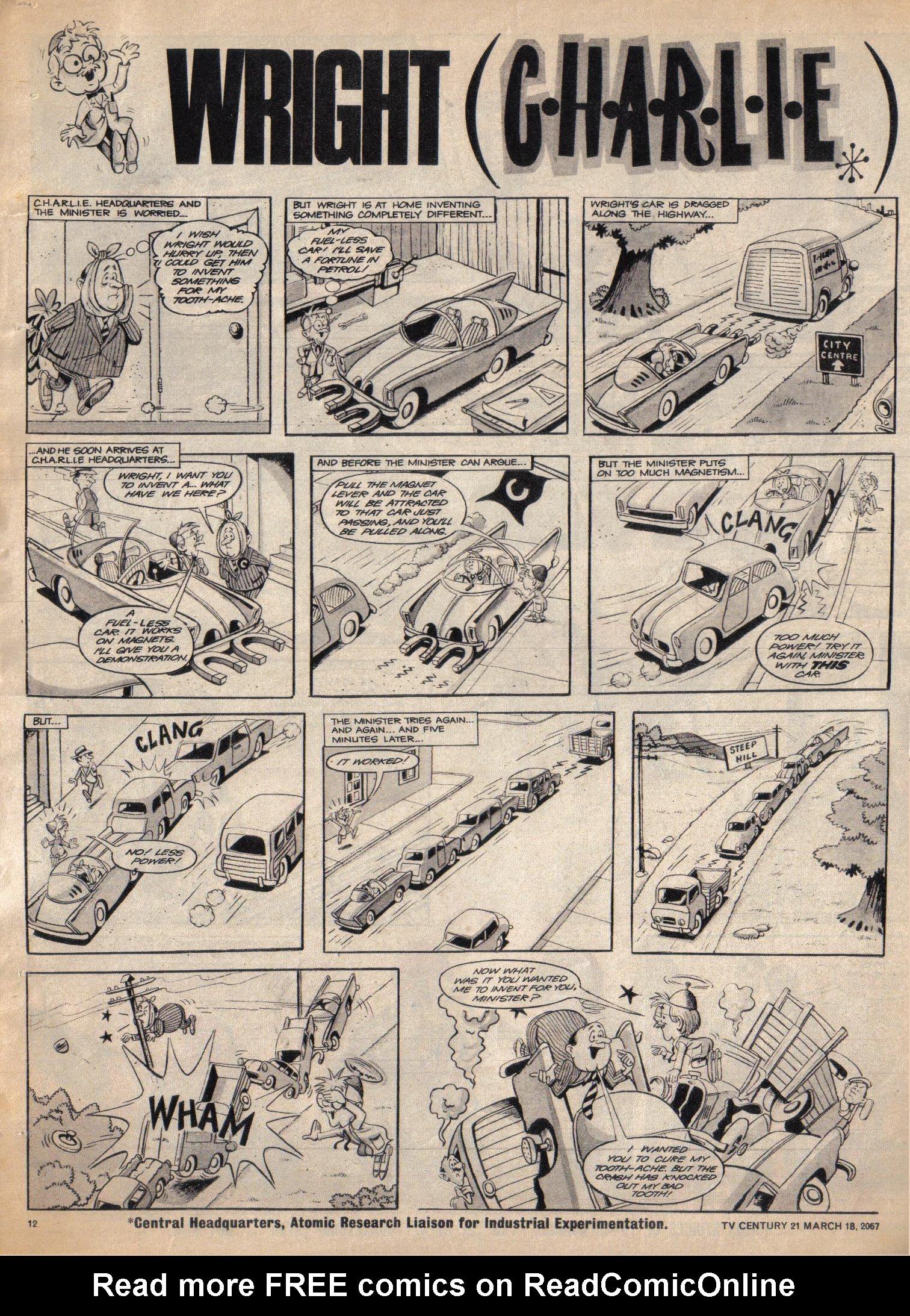 Read online TV Century 21 (TV 21) comic -  Issue #113 - 11