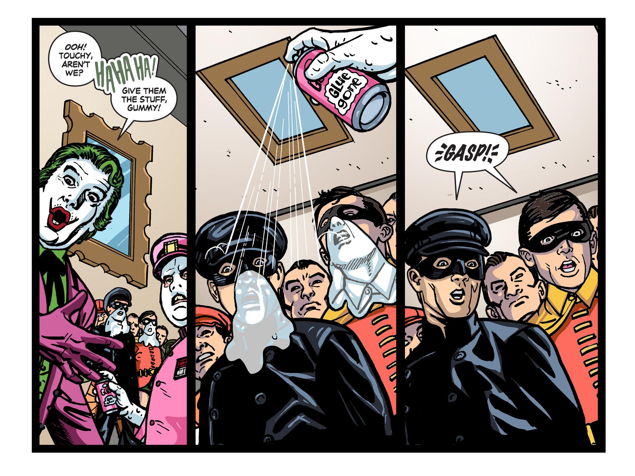 Read online Batman '66 Meets the Green Hornet [II] comic -  Issue #5 - 18