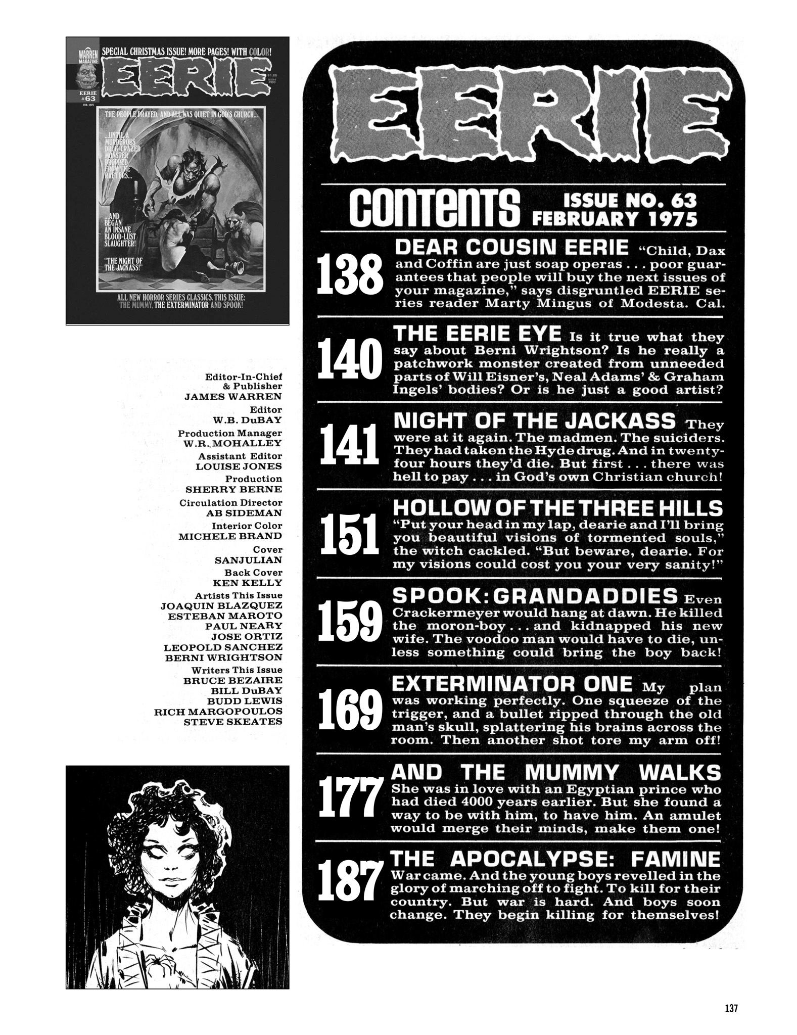 Read online Eerie Archives comic -  Issue # TPB 13 - 138