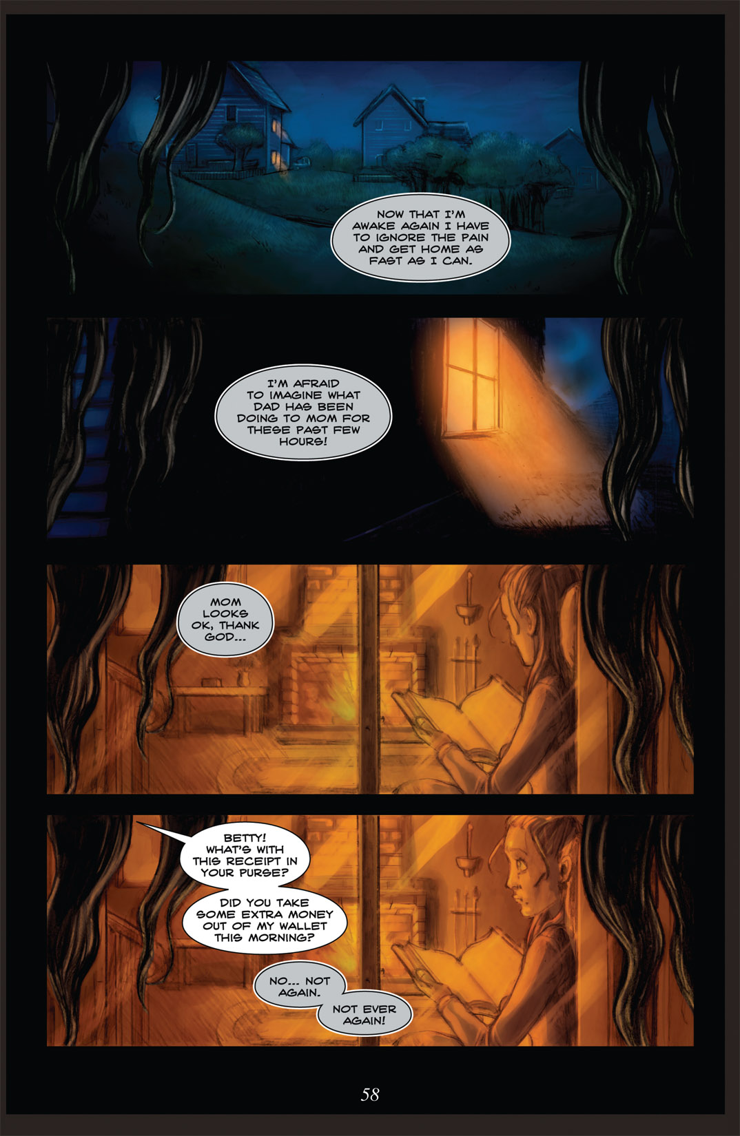 Read online Nightmare World comic -  Issue # Vol. 2 Leave the Light On - 59