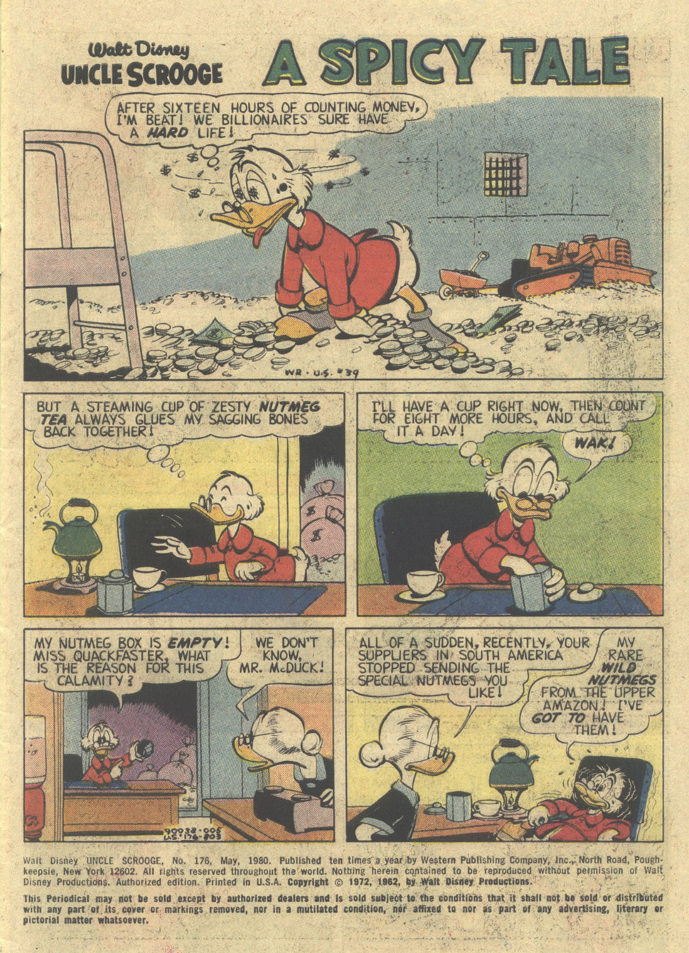 Read online Uncle Scrooge (1953) comic -  Issue #176 - 3