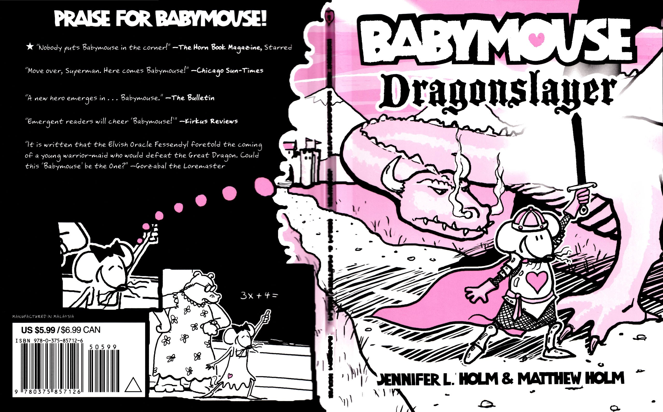 Babymouse 11 Page 1