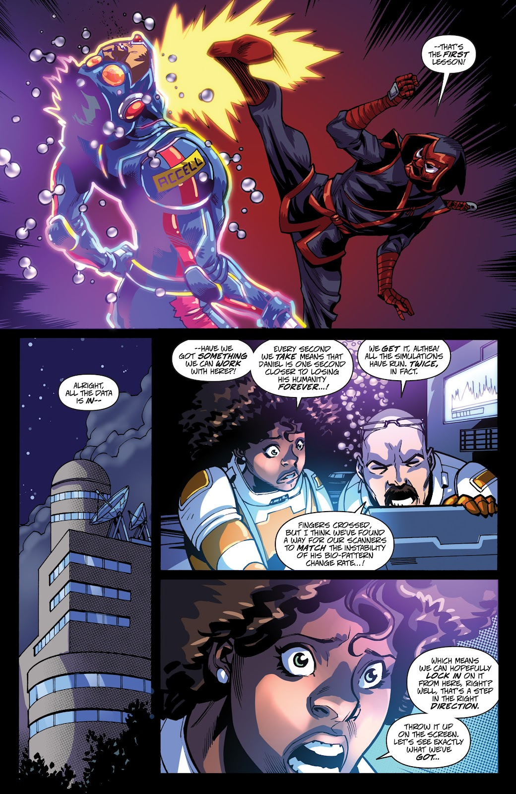 Read online Accell comic -  Issue #19 - 7