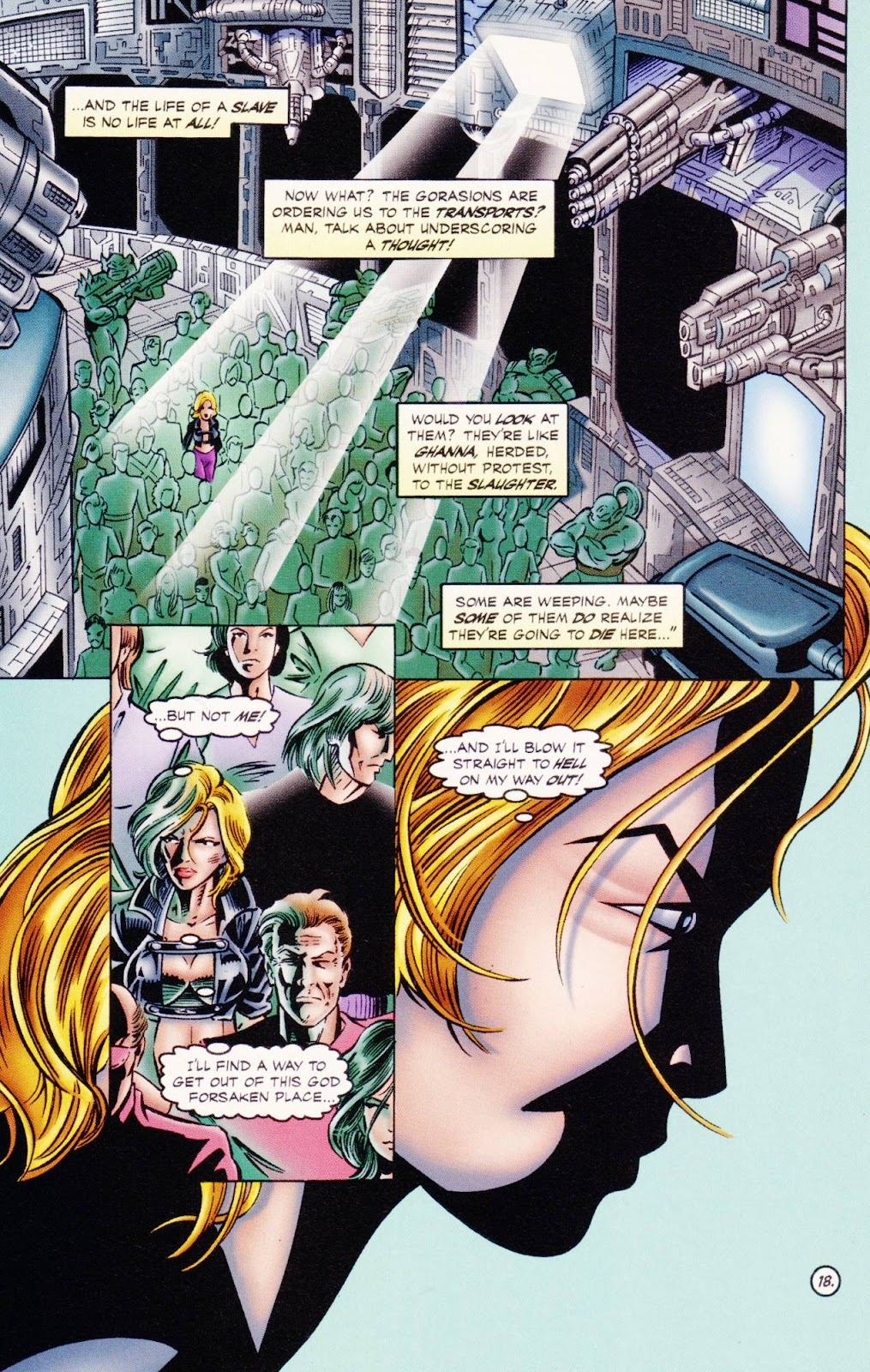 Read online The Alliance comic -  Issue #1 - 21