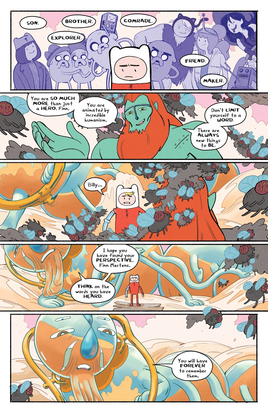 Read online Adventure Time: Beginning of the End comic -  Issue # _TPB - 47