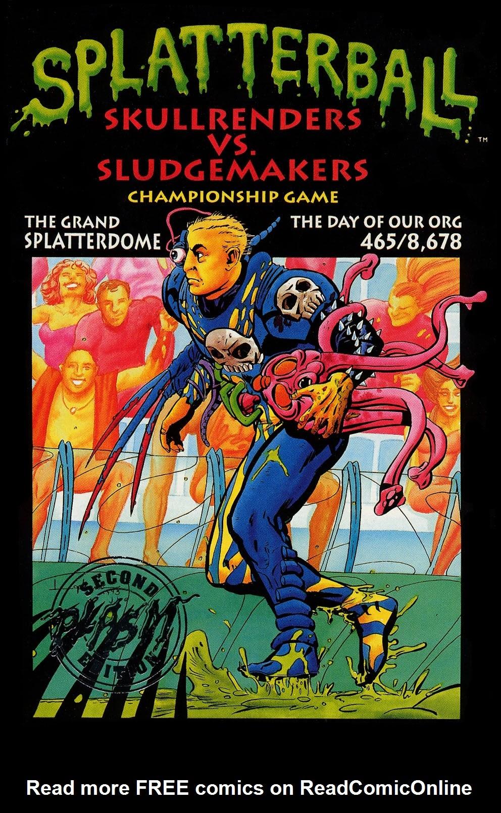 Splatterball Full Page 1