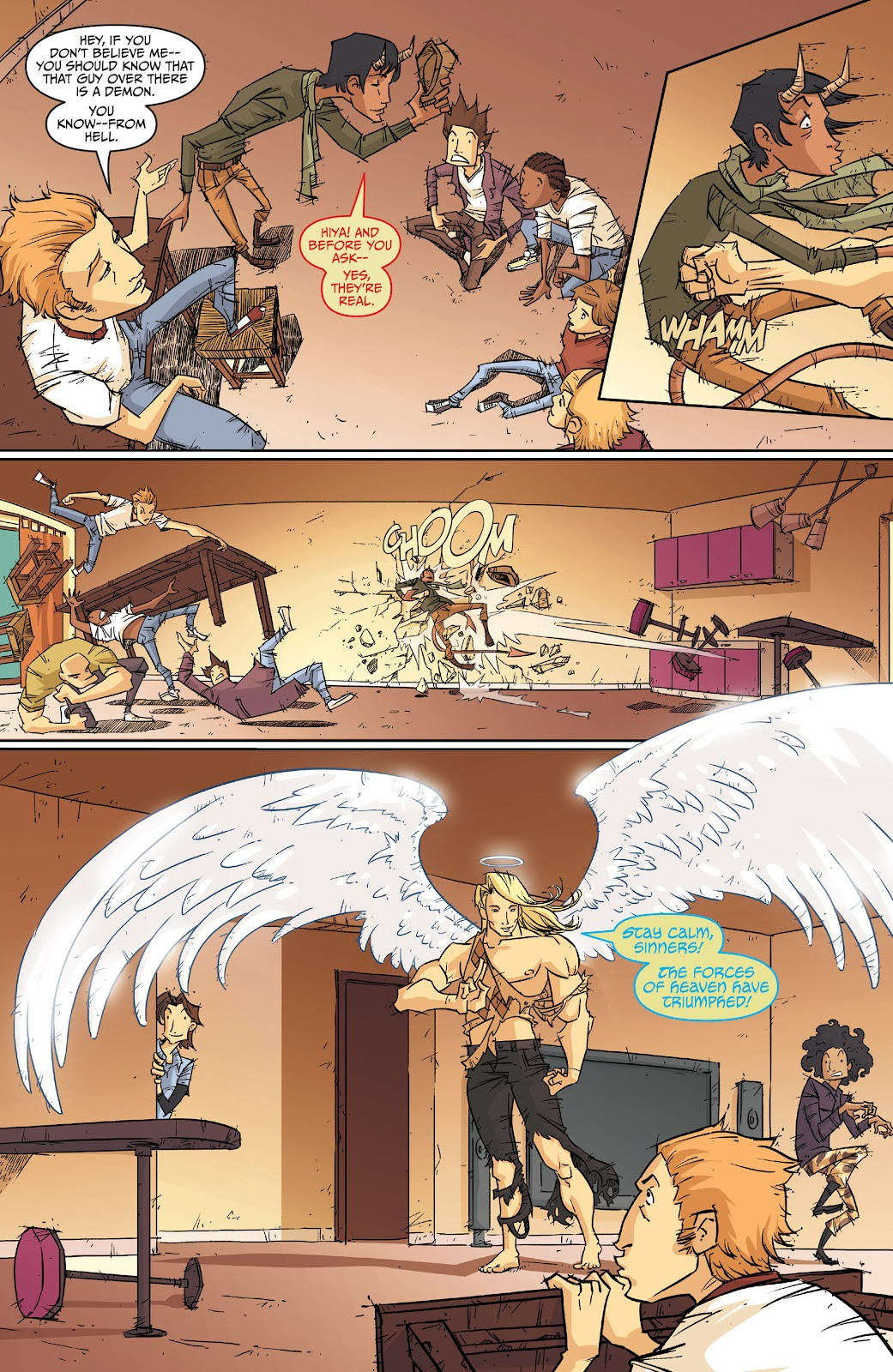 Read online The End Times of Bram and Ben comic -  Issue #2 - 14