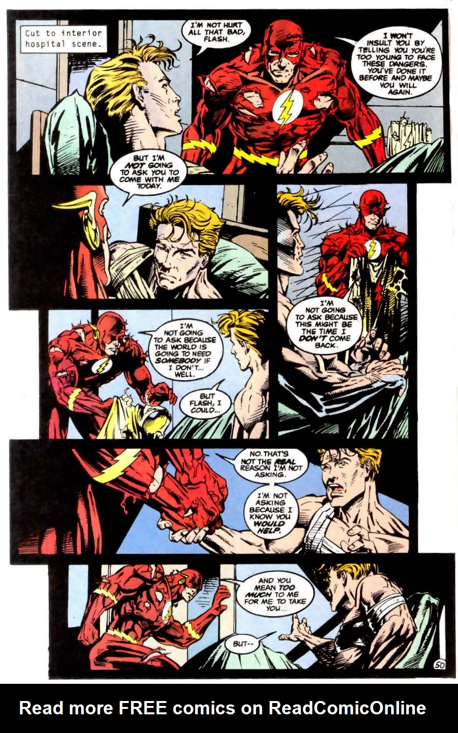 Read online The Flash (1987) comic -  Issue # _Annual 7 - 51