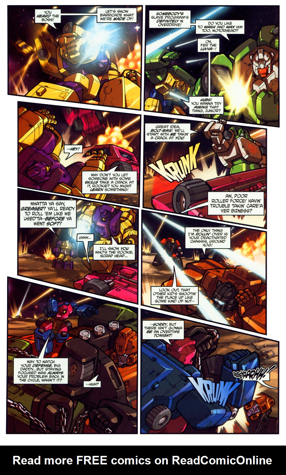 Read online Transformers: Micromasters comic -  Issue #1 - 6