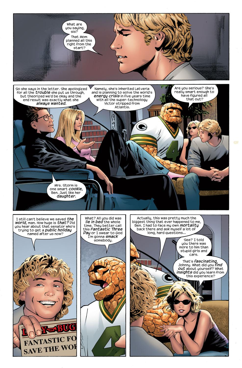 Read online Ultimate Fantastic Four (2004) comic -  Issue #32 - 23