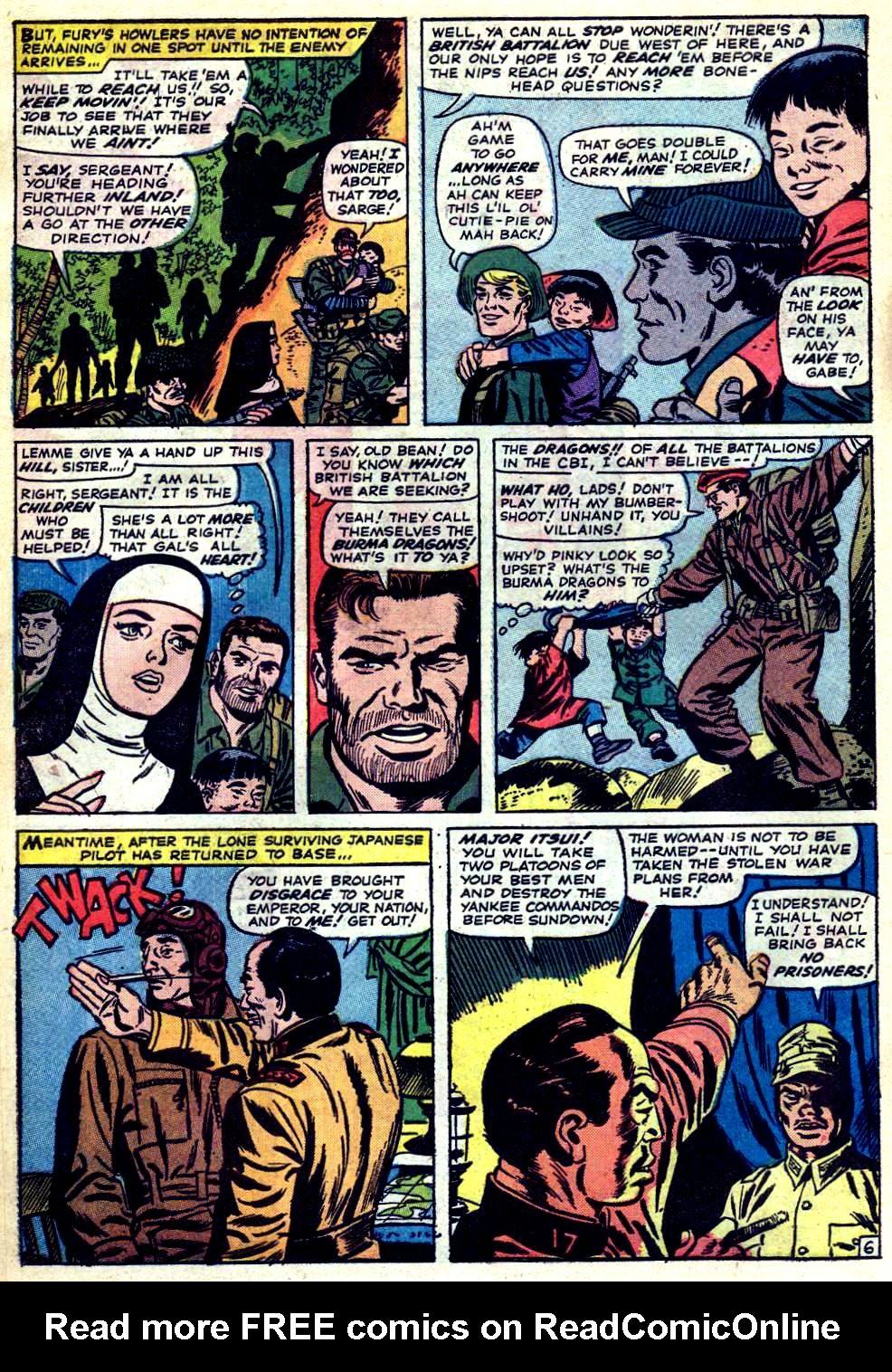 Read online Sgt. Fury comic -  Issue #23 - 10