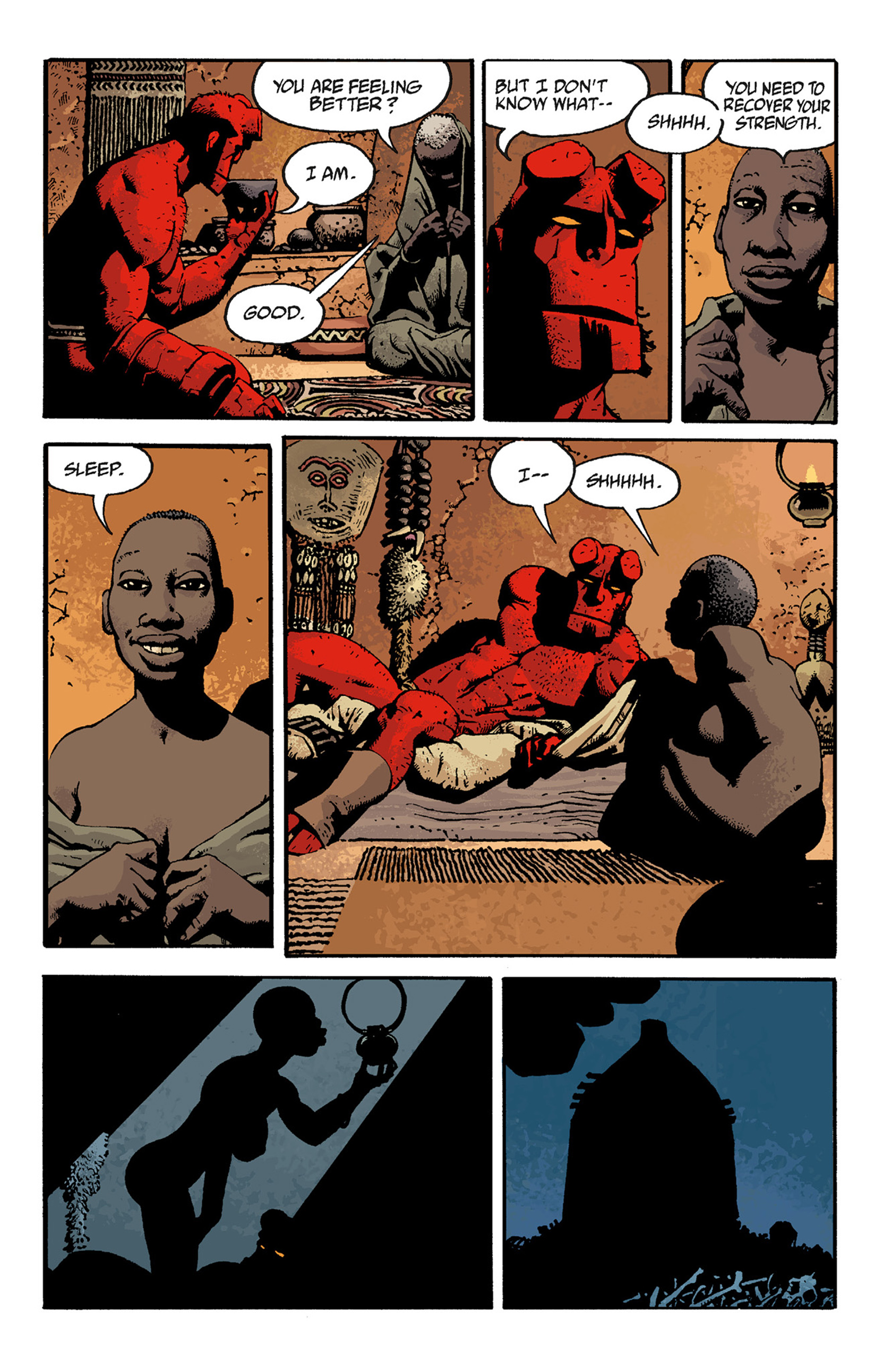 Read online Hellboy: The Troll Witch and Others comic -  Issue # TPB - 117