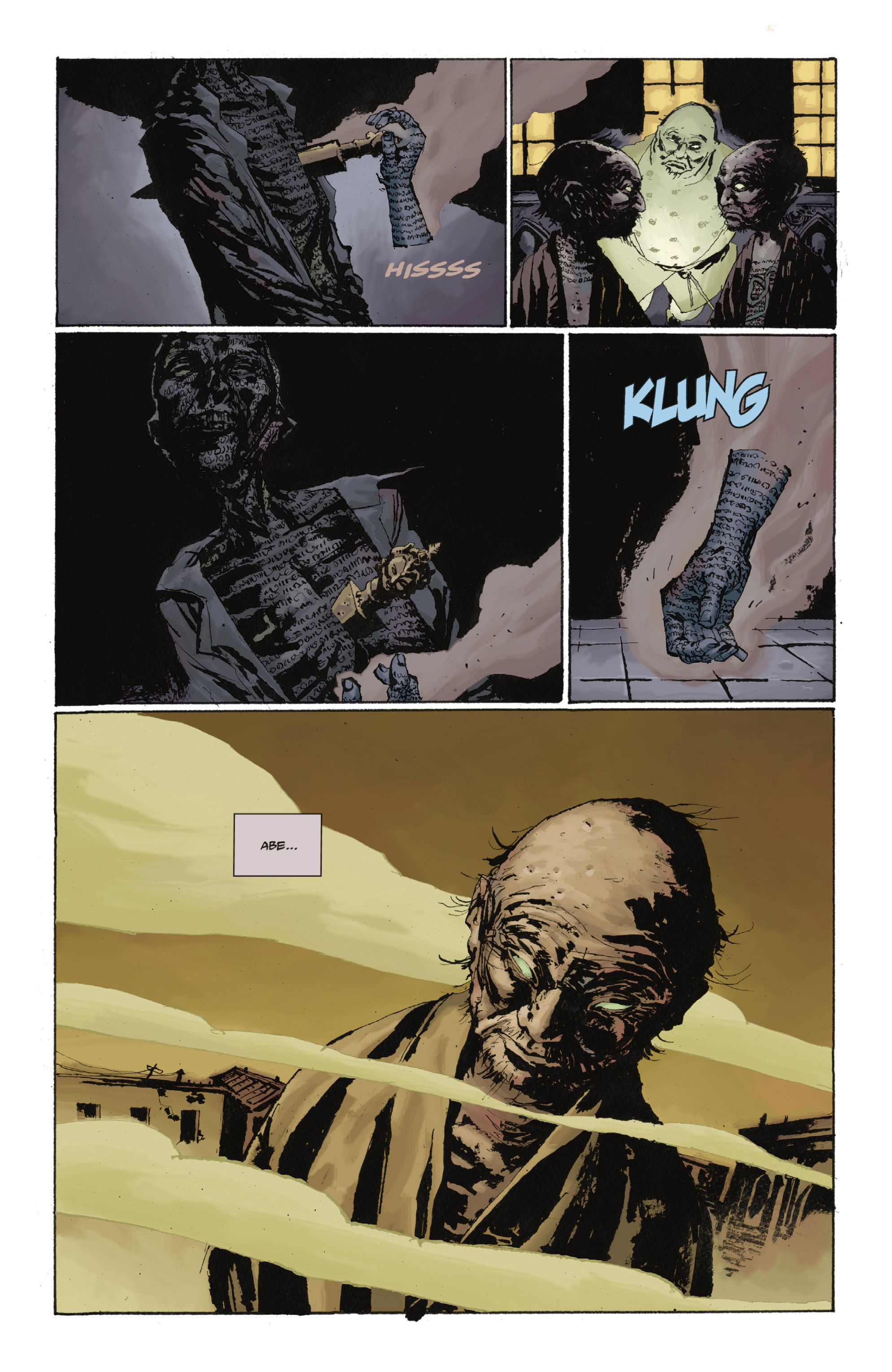 Read online Abe Sapien: The Drowning comic -  Issue #Abe Sapien: The Drowning _TPB - 67