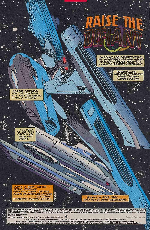 Read online Star Trek (1989) comic -  Issue # _Special 2 - 4