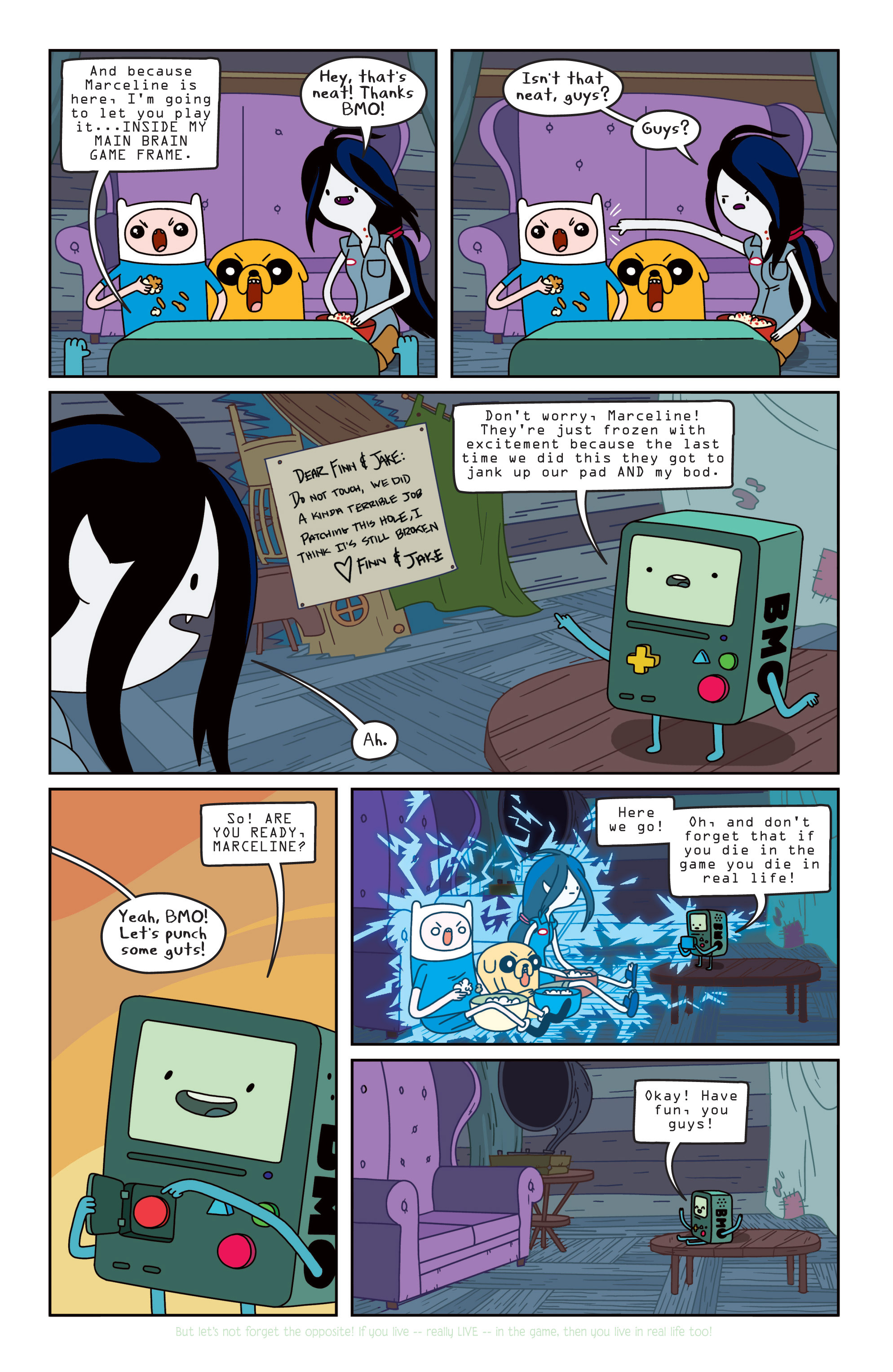 Read online Adventure Time comic -  Issue #11 - 10
