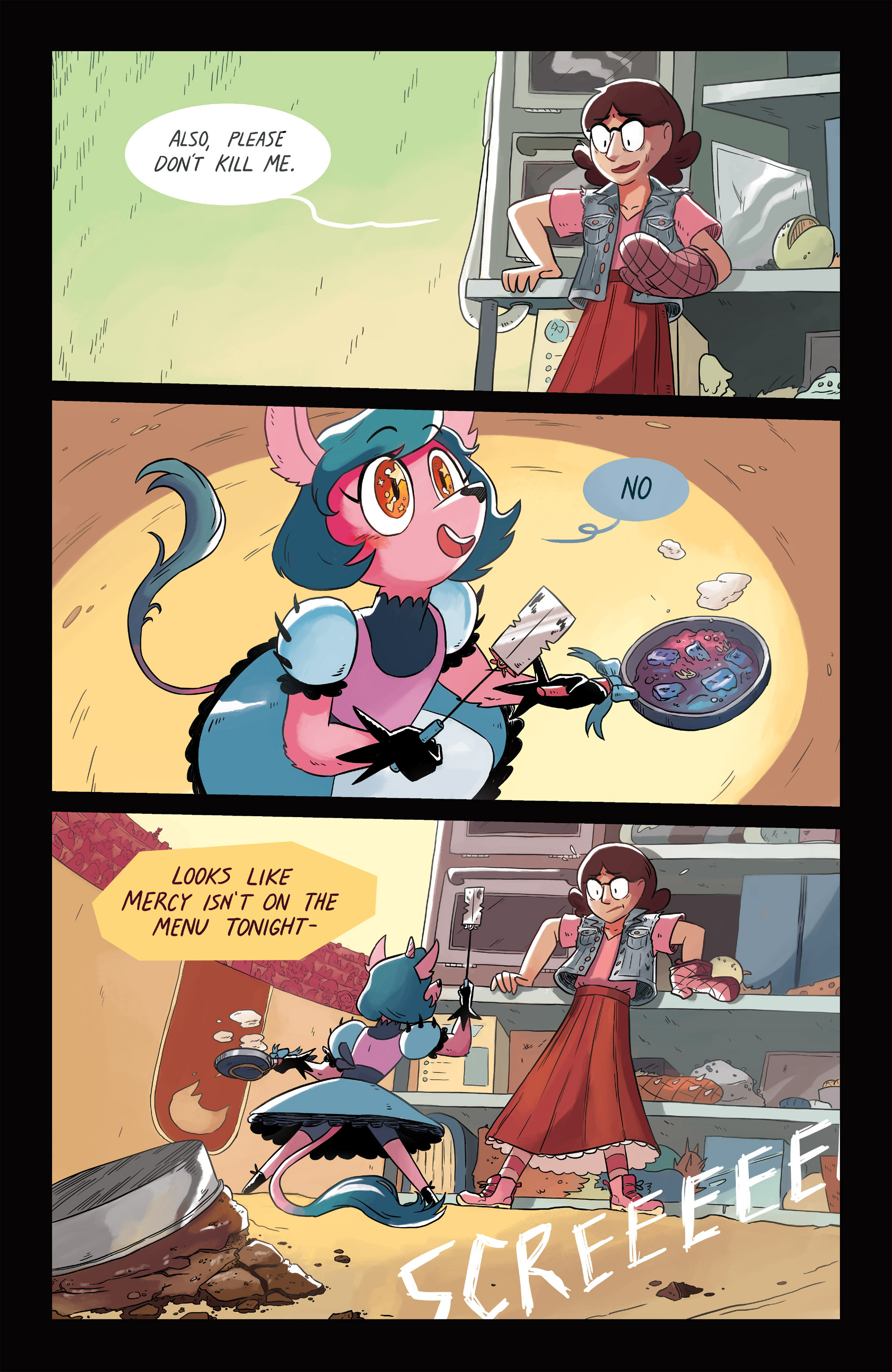 Read online Space Battle Lunchtime comic -  Issue #6 - 19