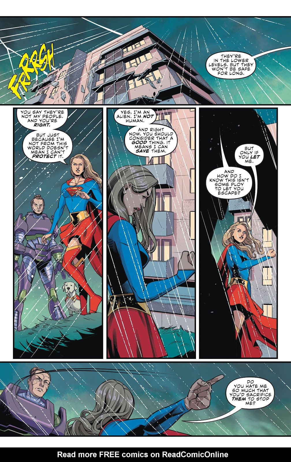 Read online Supergirl (2016) comic -  Issue #42 - 17