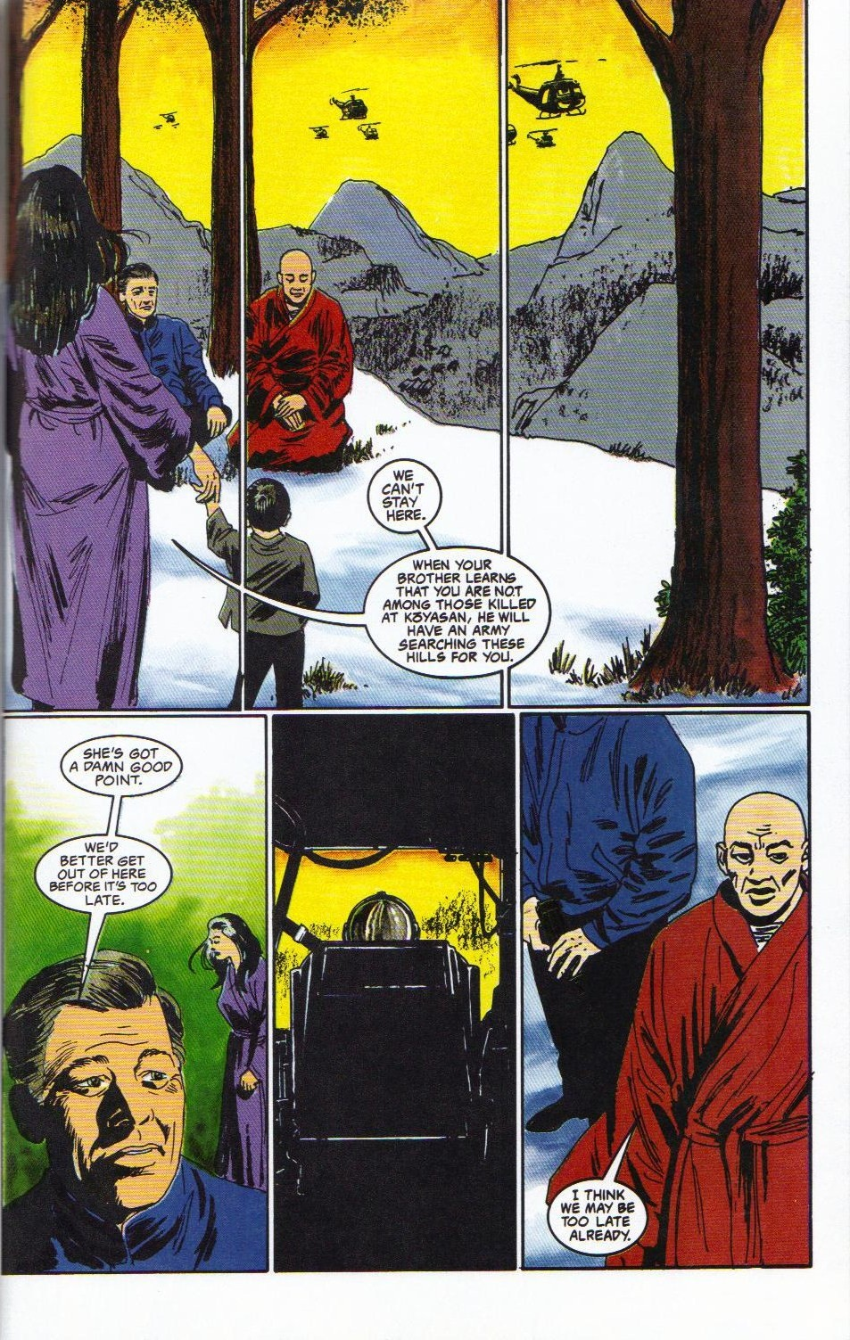 Read online Shado: Song of the Dragon comic -  Issue #2 - 47