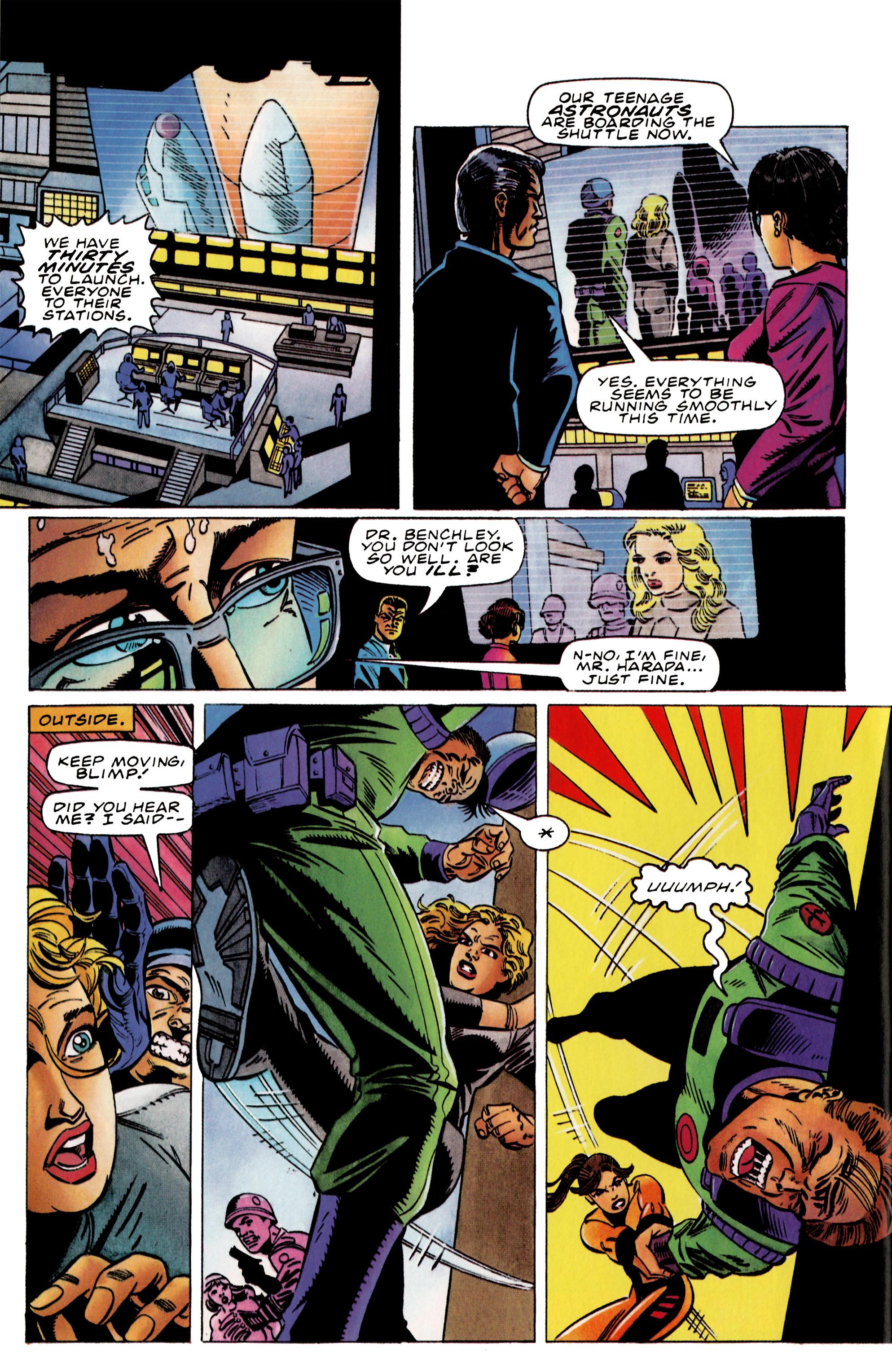 Read online Harbinger (1992) comic -  Issue #37 - 16