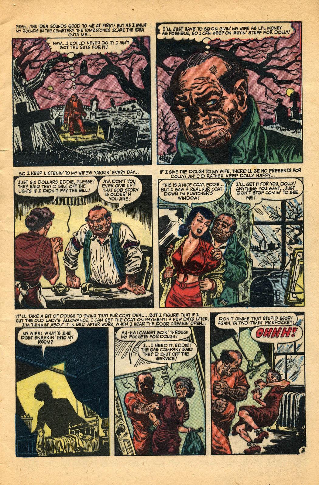 Read online Adventures into Weird Worlds comic -  Issue #29 - 5