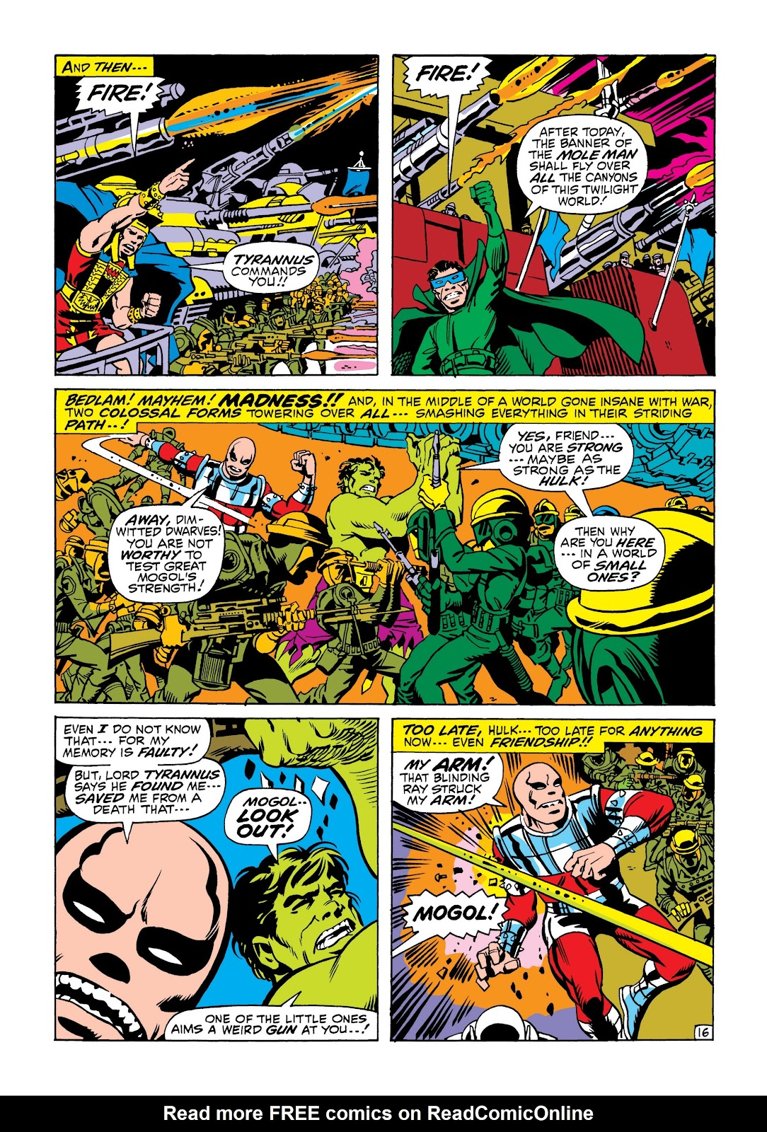 Read online Marvel Masterworks: The Incredible Hulk comic -  Issue # TPB 6 (Part 2) - 29
